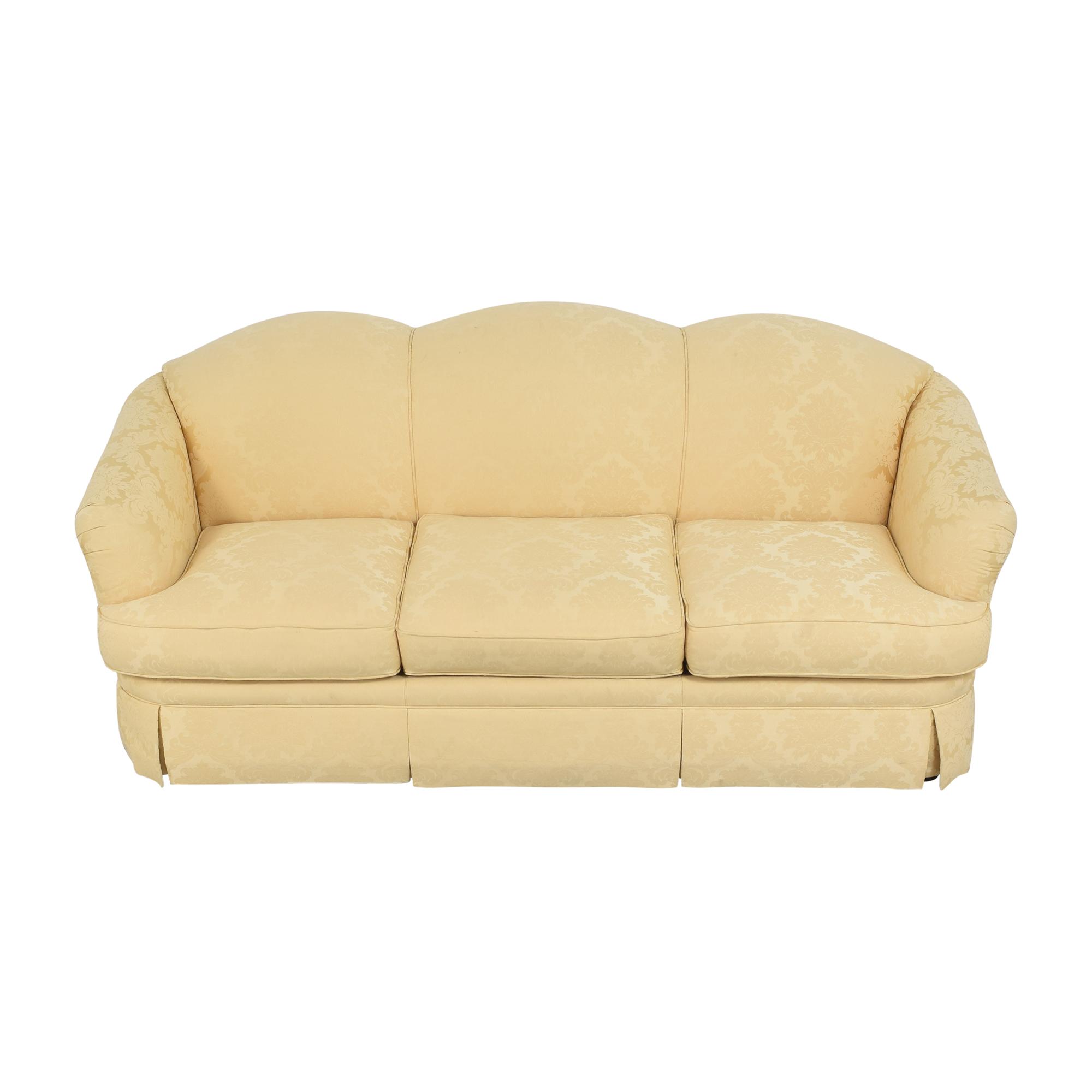 buy Thomasville Thomasville Scalloped Three Cushion Sofa online