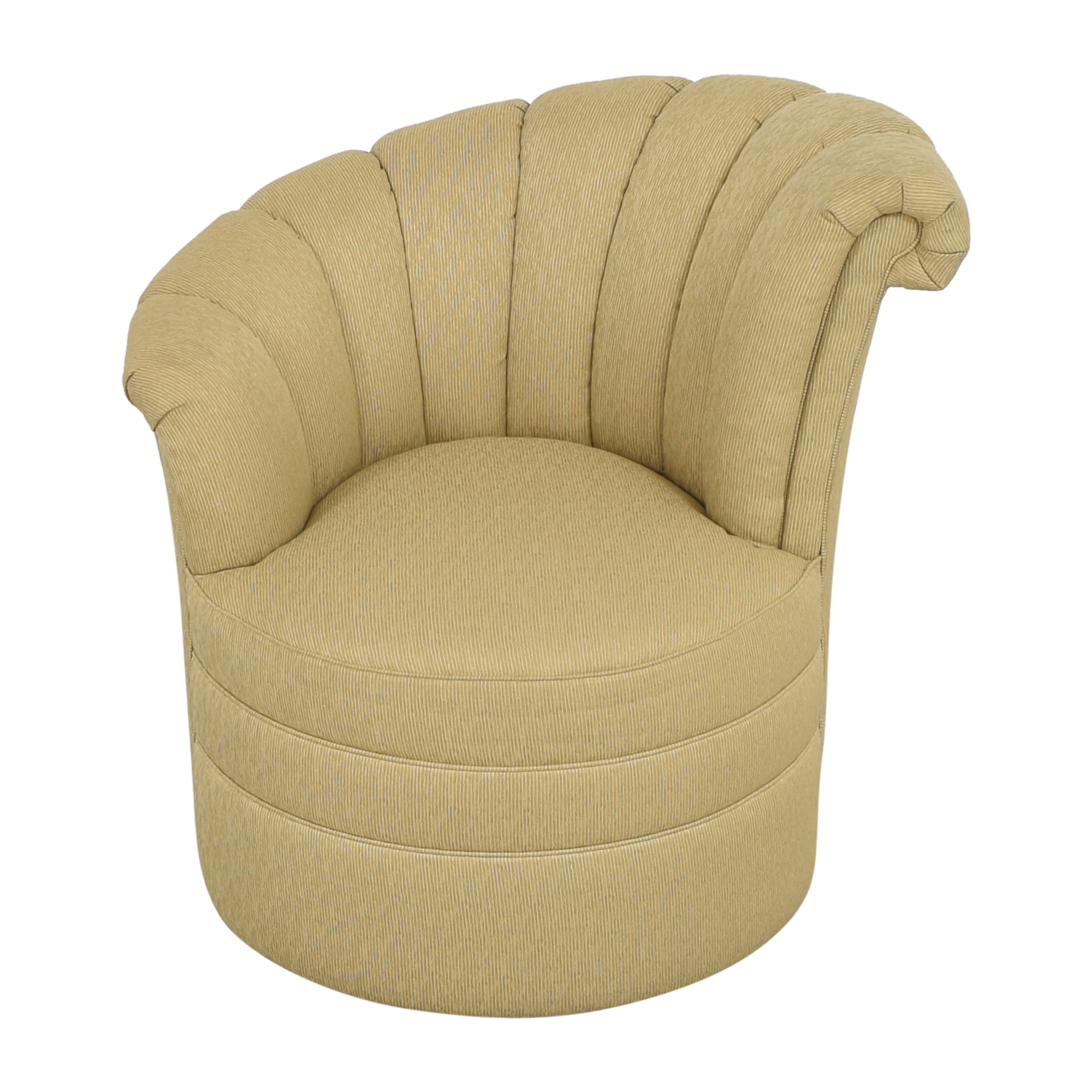 shop Thomasville Starlet Left Arm Swivel Chair Thomasville
