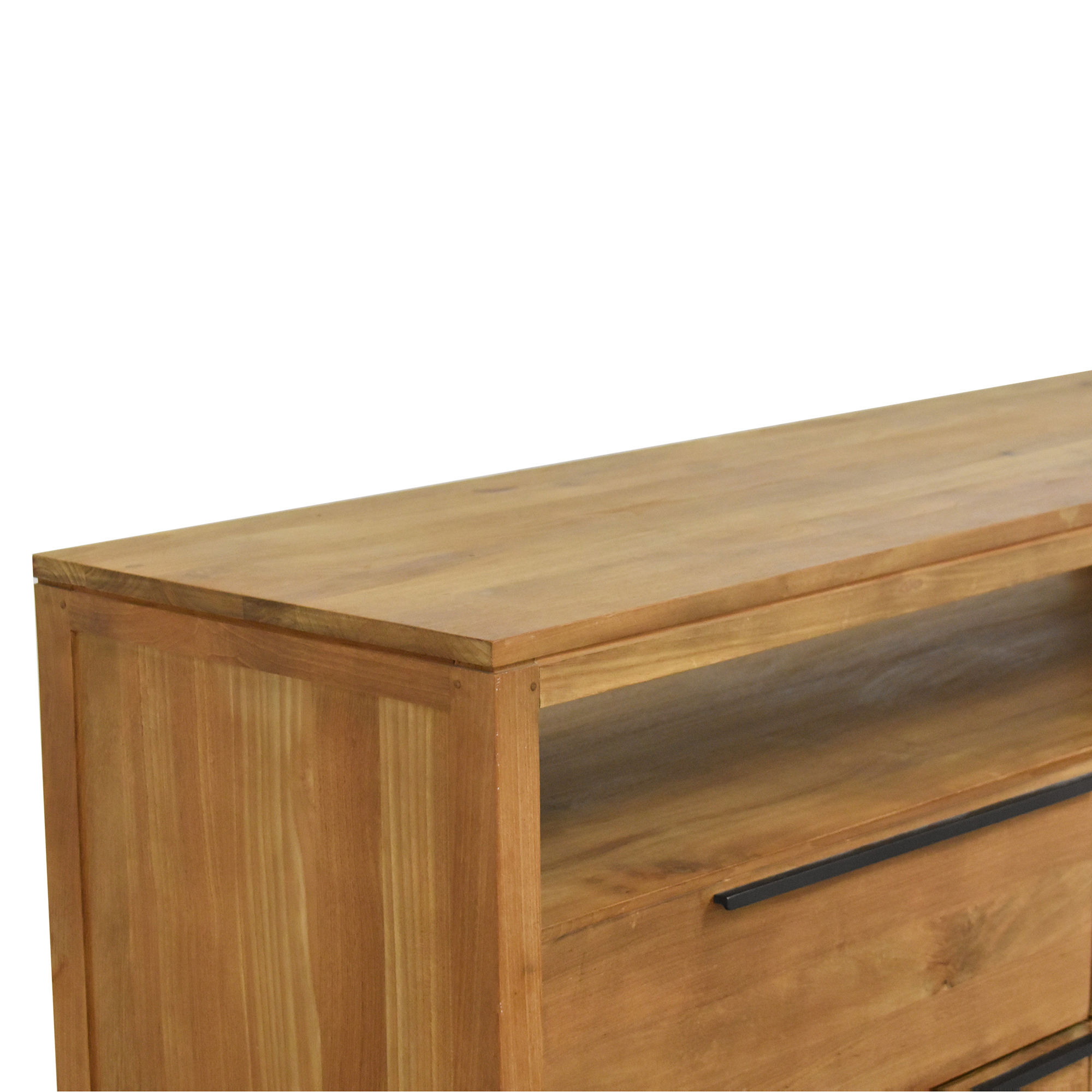 Crate & Barrel Linea Four Drawer Dresser Crate & Barrel