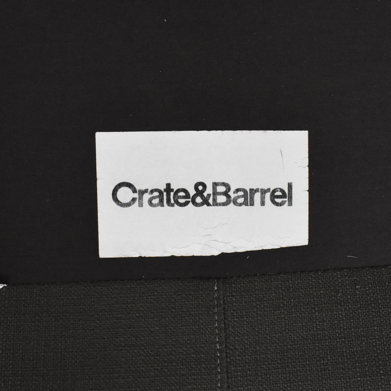 Crate & Barrel Crate & Barrel Petrie Midcentury Apartment Sofa