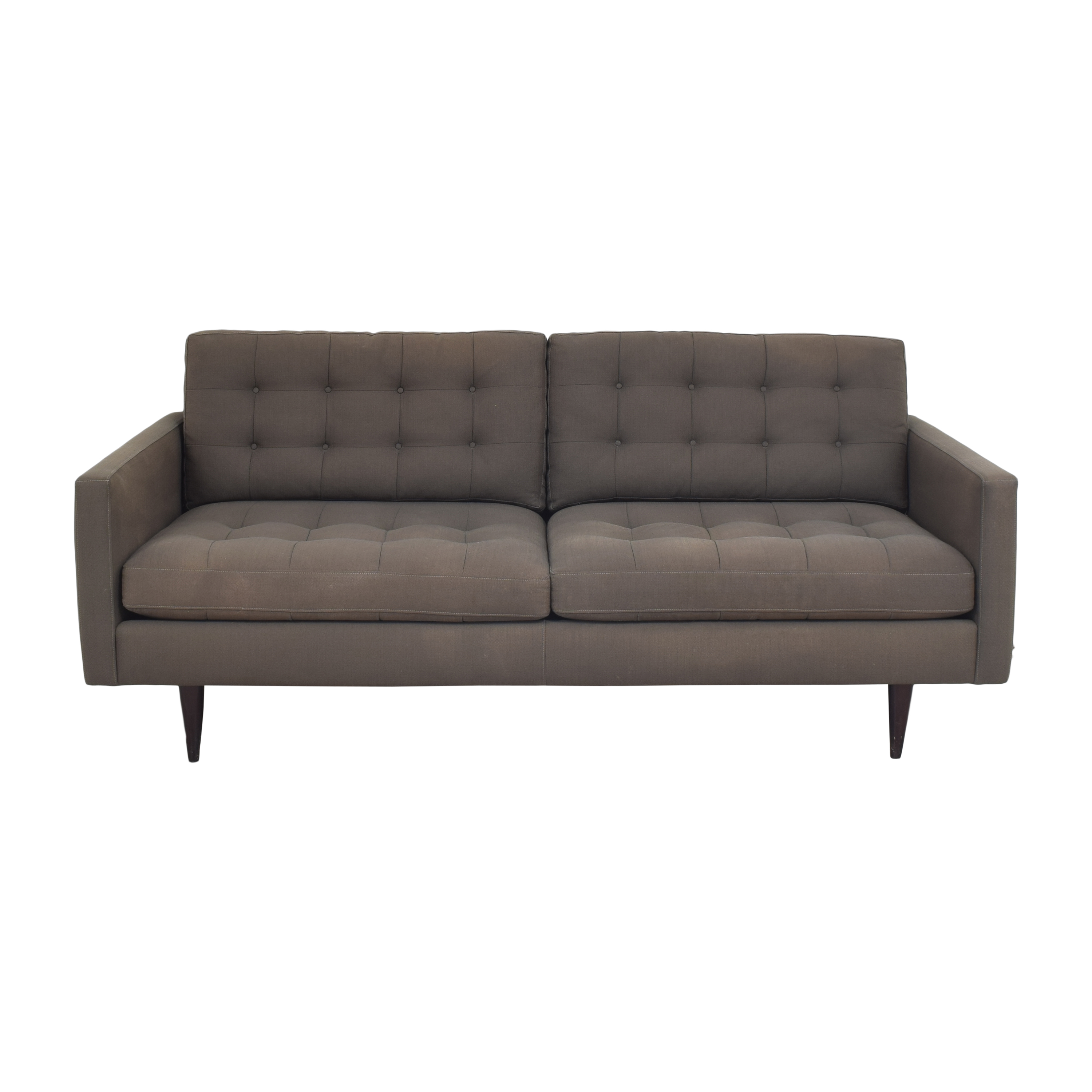 Crate & Barrel Petrie Midcentury Apartment Sofa / Sofas
