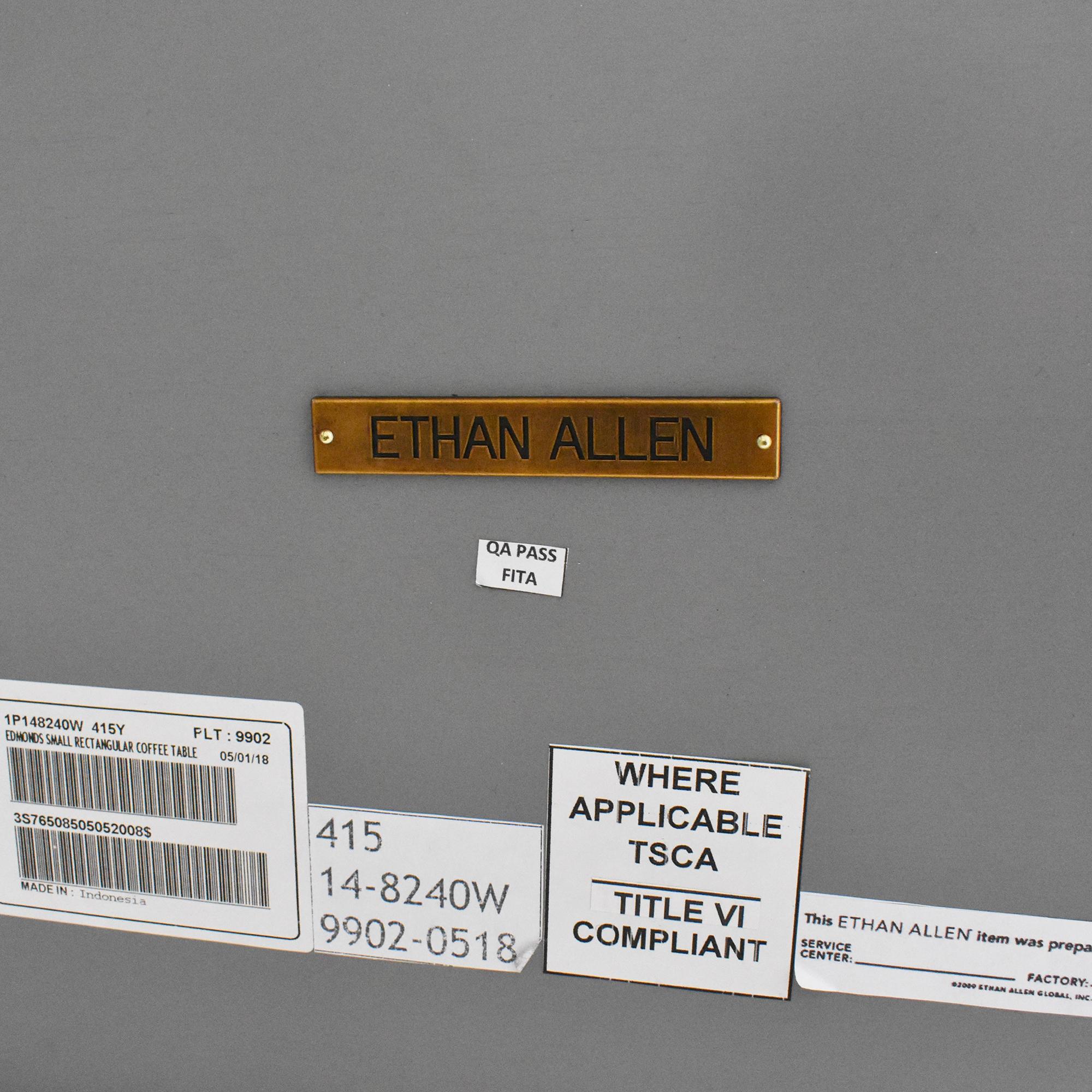 Ethan Allen Ethan Allen Edmonds Rectangular Coffee Table discount