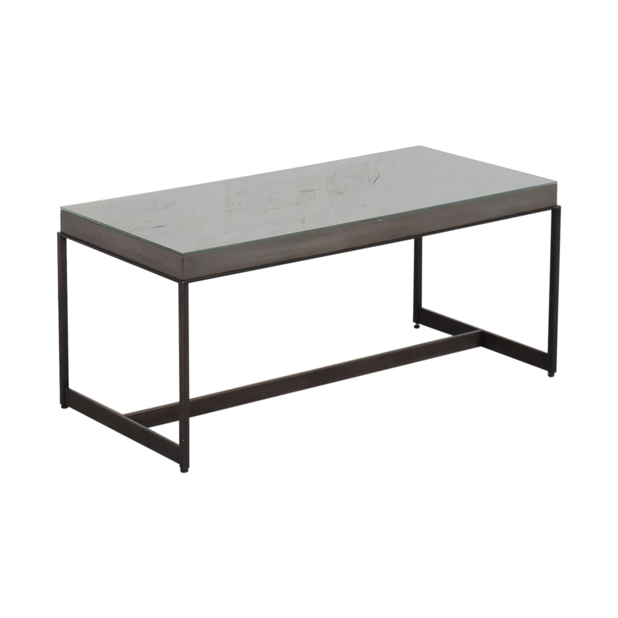 shop Ethan Allen Ethan Allen Edmonds Rectangular Coffee Table online