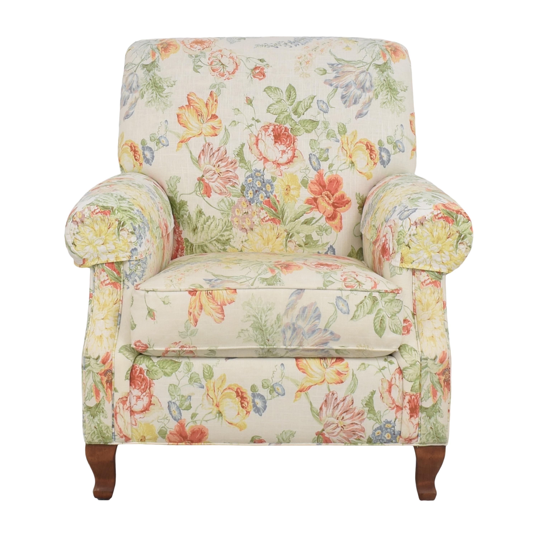 shop Ethan Allen Roll Arm Accent Chair Ethan Allen Chairs