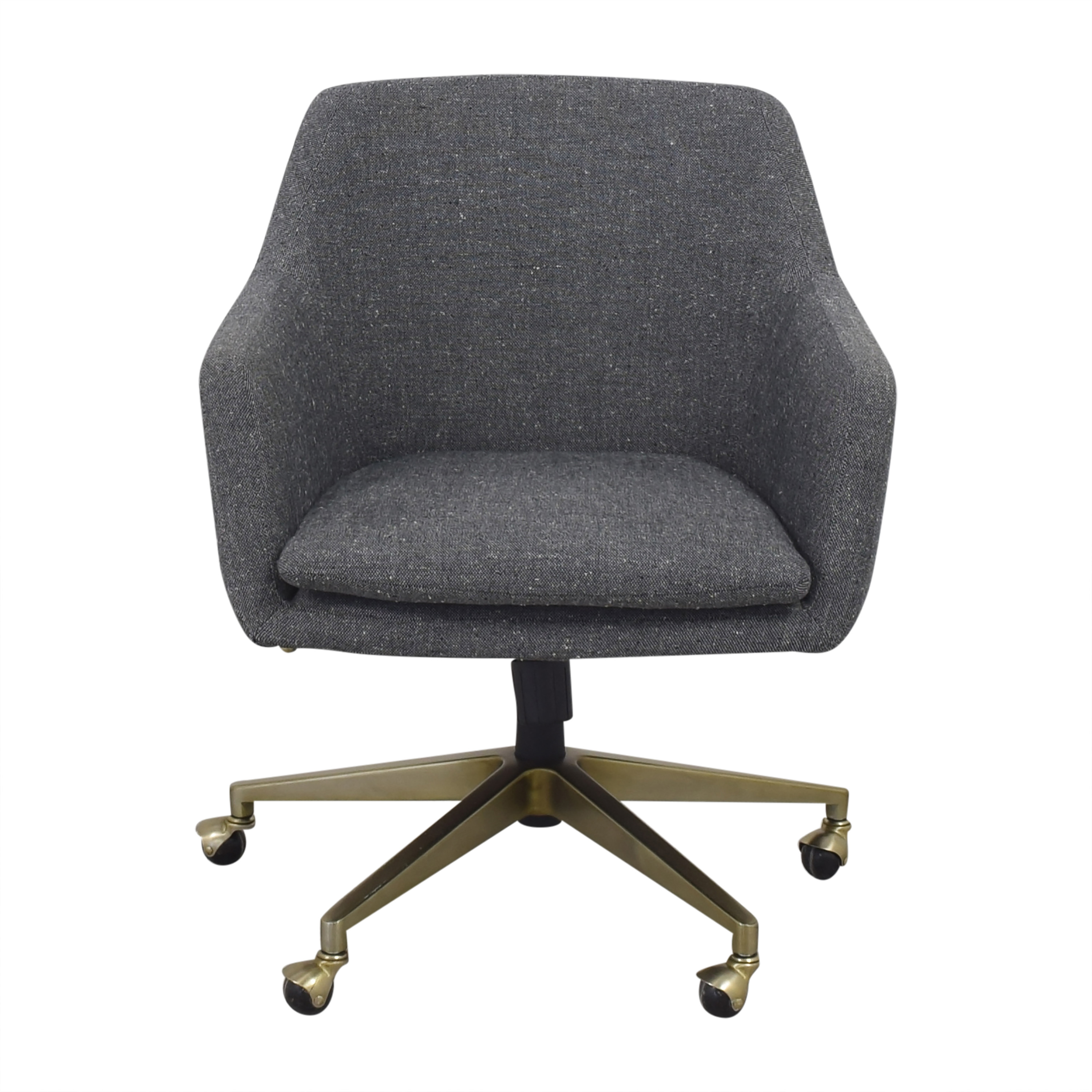 West Elm West Elm Helvetica Upholstered Office Chair for sale