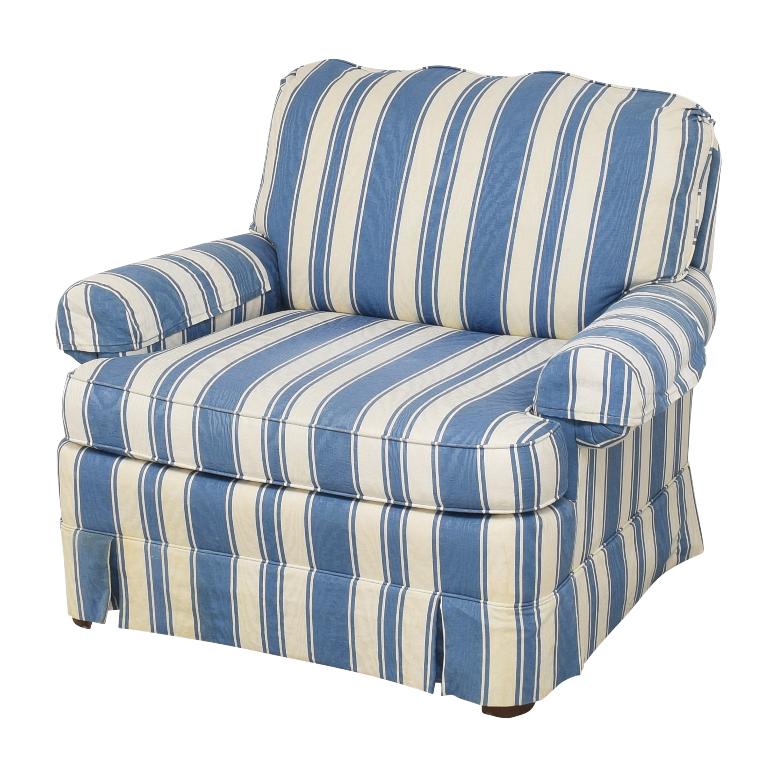 Clayton Marcus Clayton Marcus Striped Accent Chair Chairs