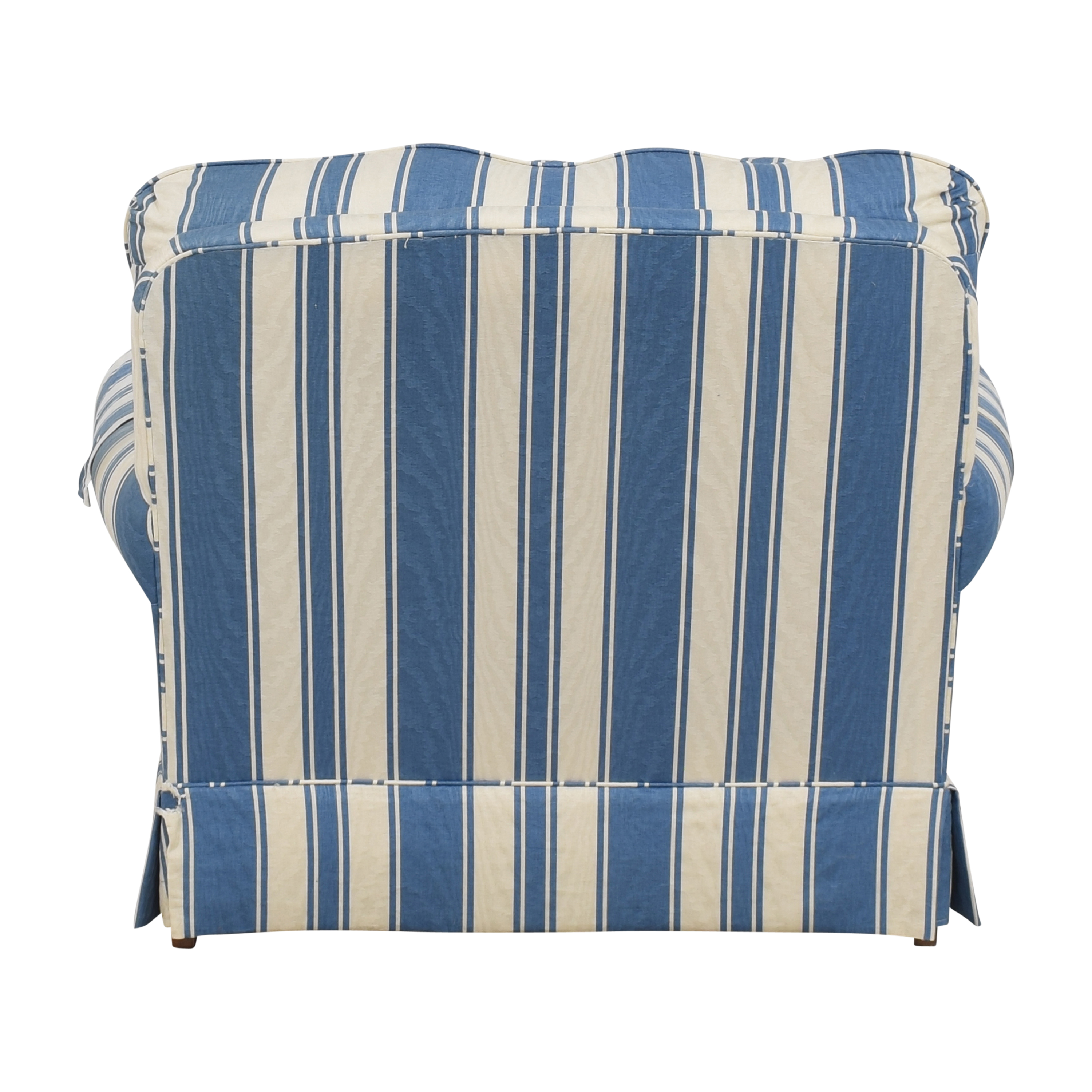 Clayton Marcus Clayton Marcus Striped Accent Chair on sale