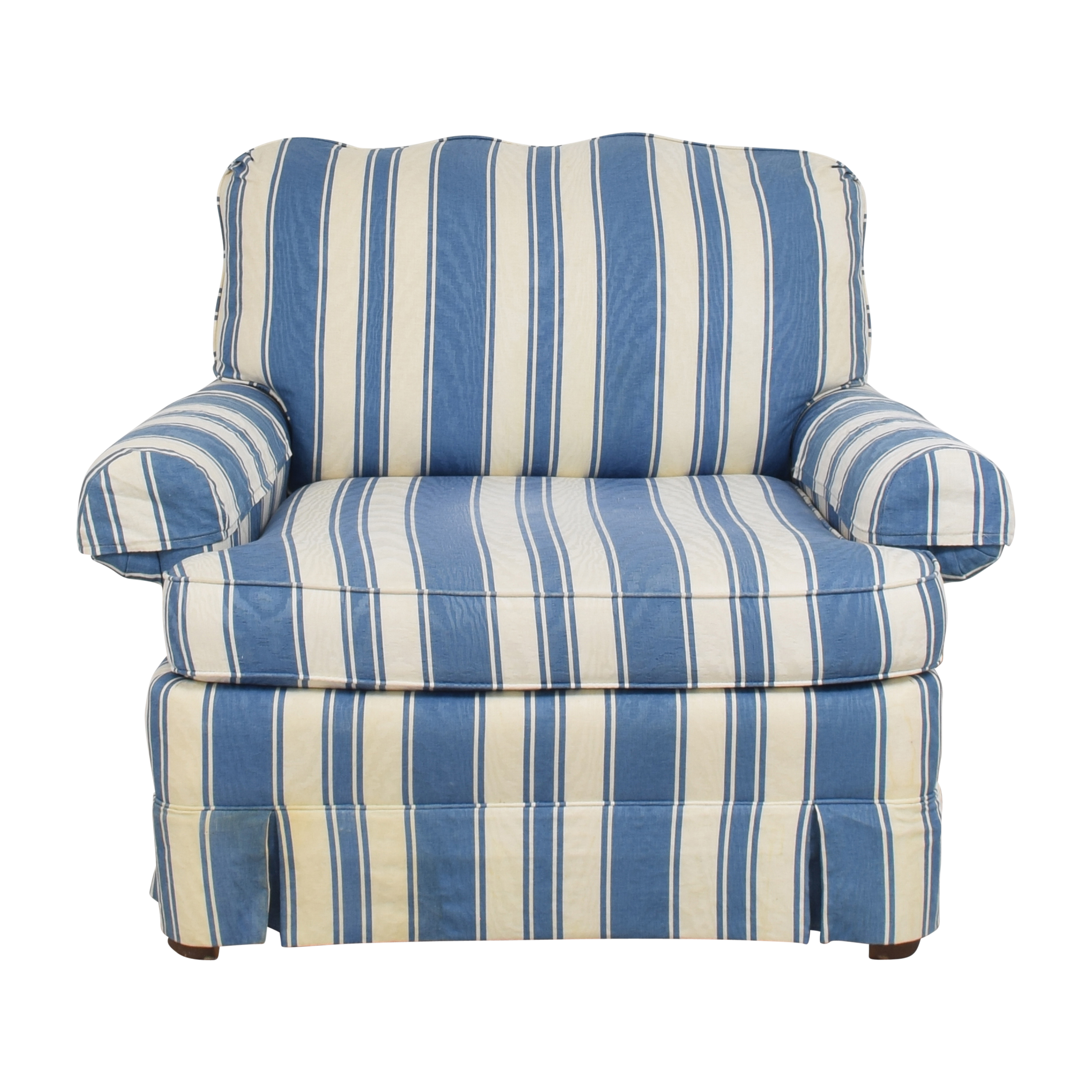 Clayton Marcus Clayton Marcus Striped Accent Chair ct