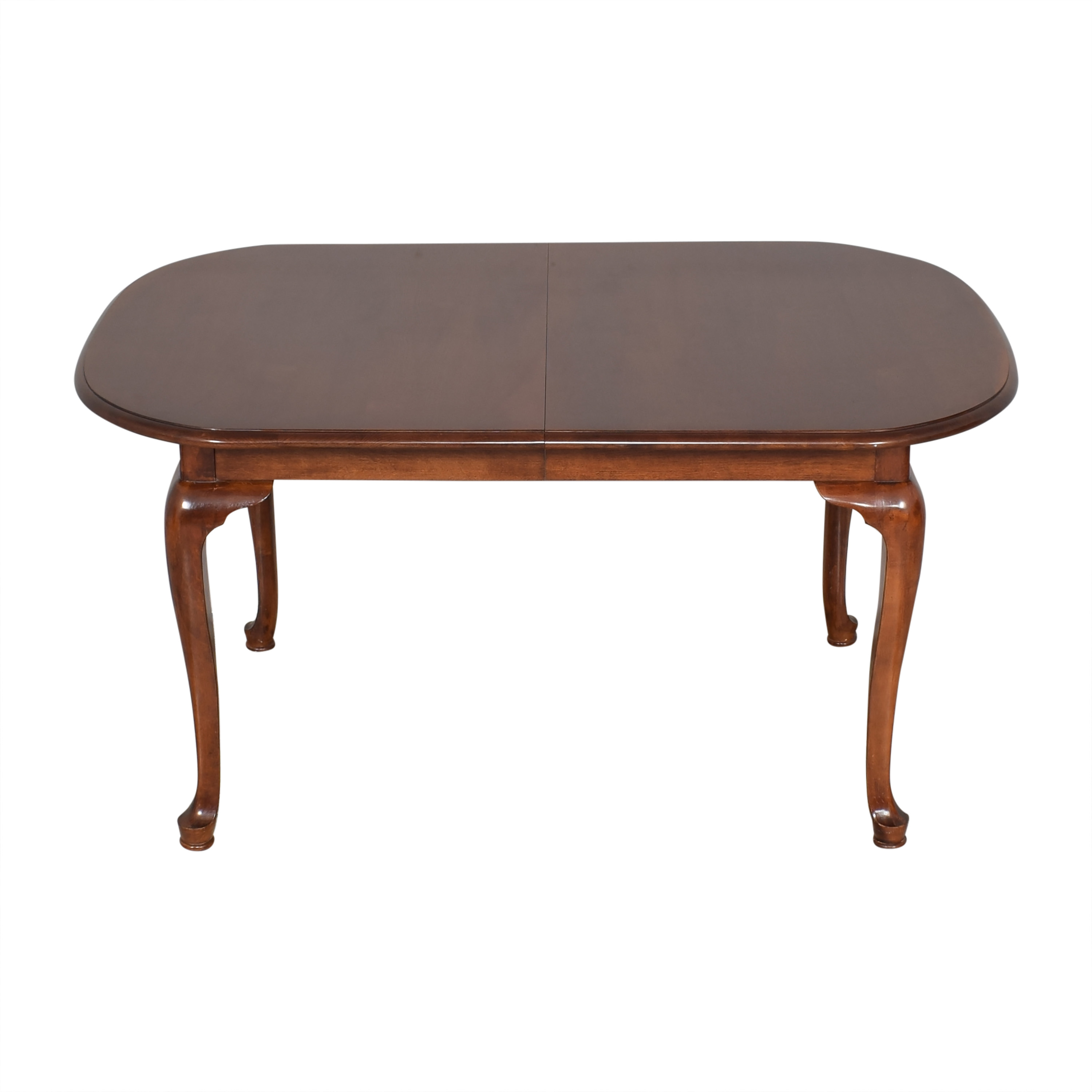 Queen Anne Extendable Dining Table pa