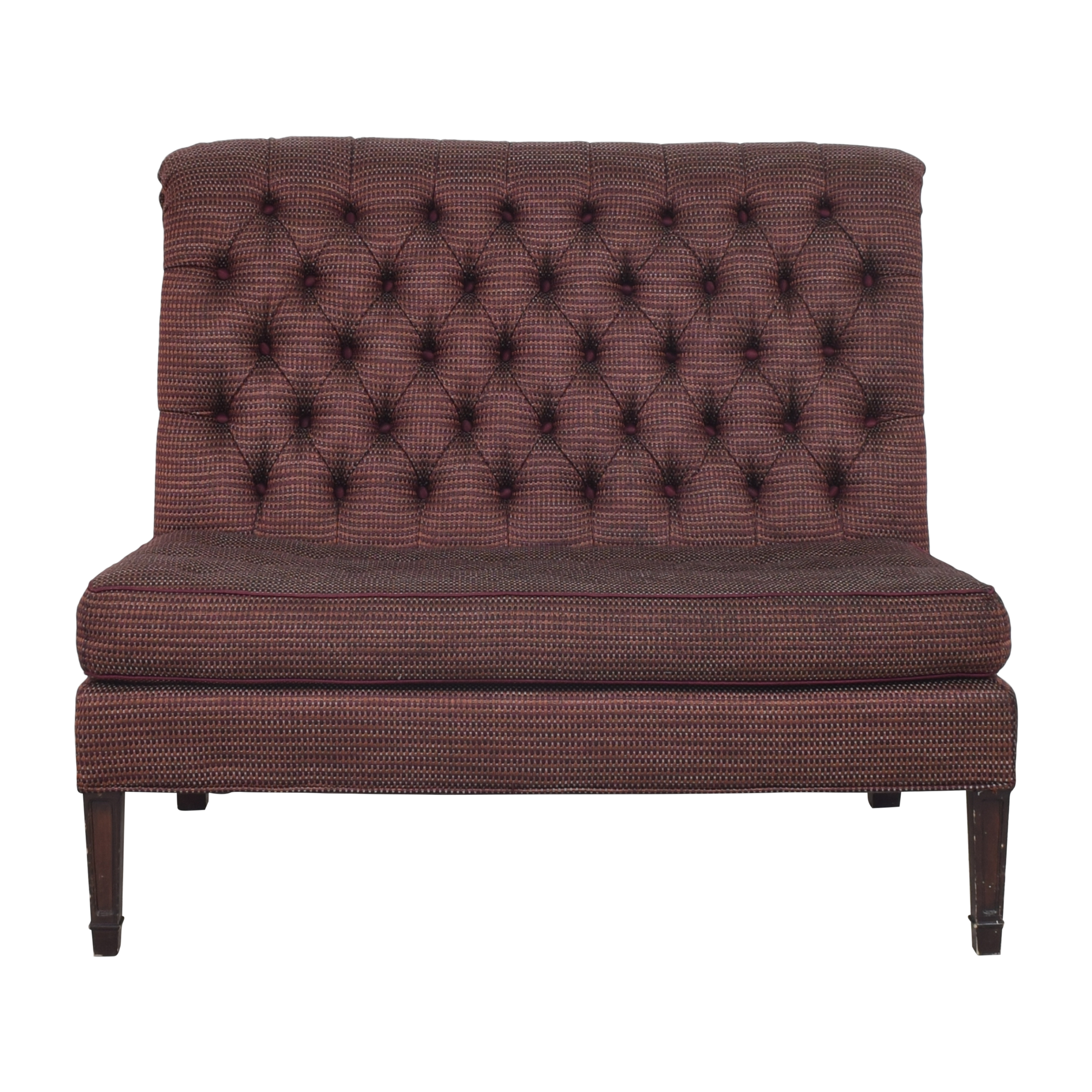 Lillian August Lillian August Tufted Settee coupon