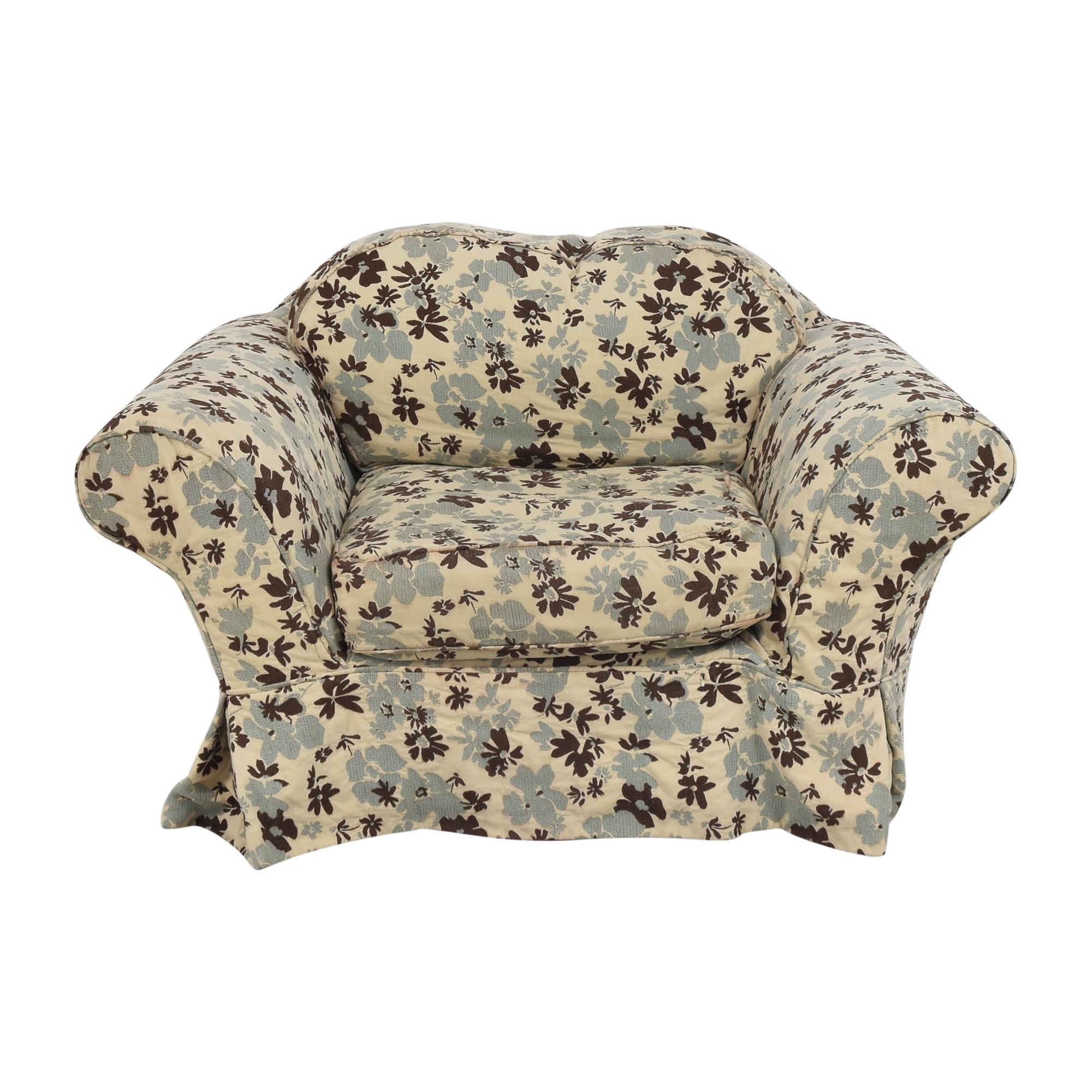 Quatrine Quatrine Slipcovered Accent Chair second hand