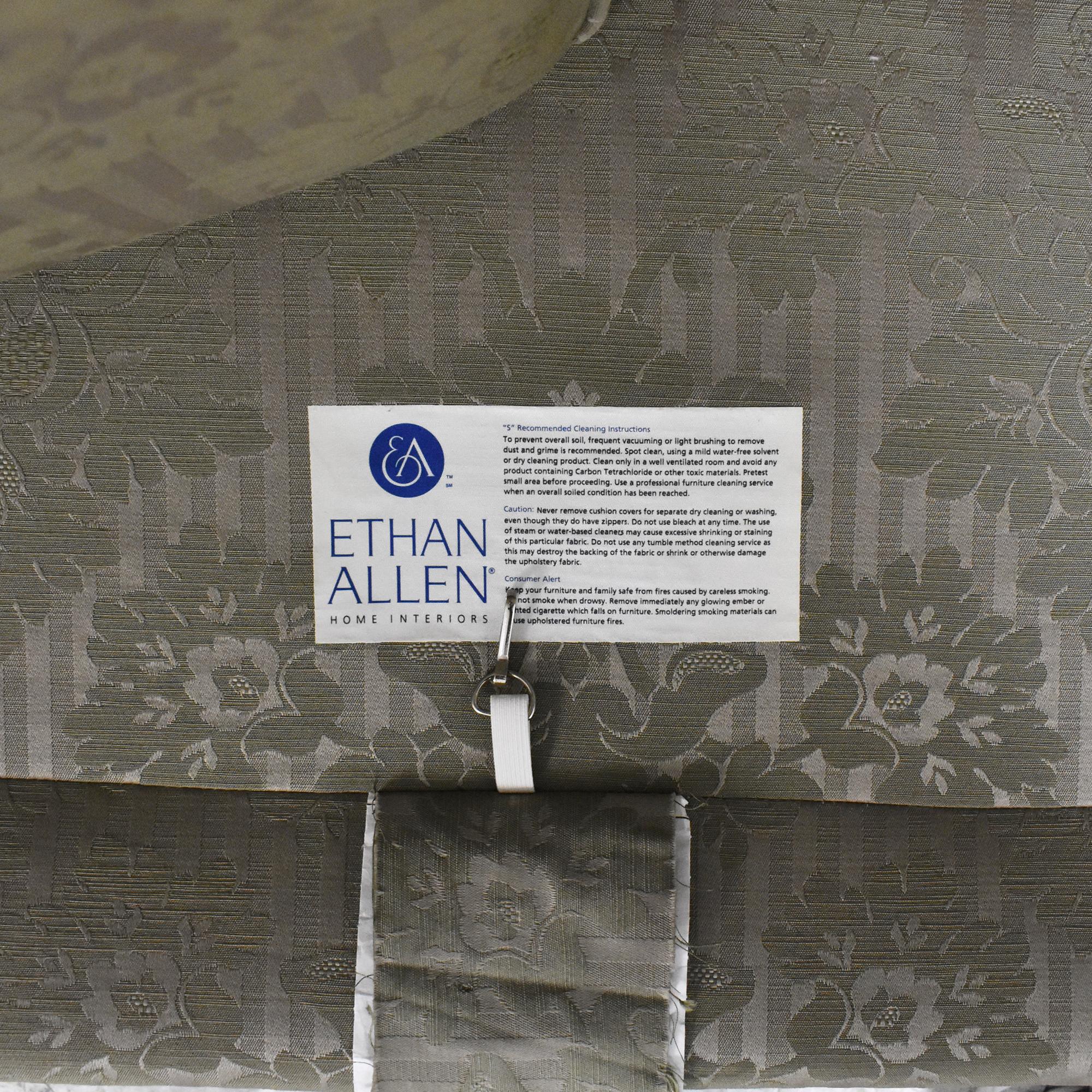 Ethan Allen Ethan Allen Two Cushion Roll Arm Sofa nj