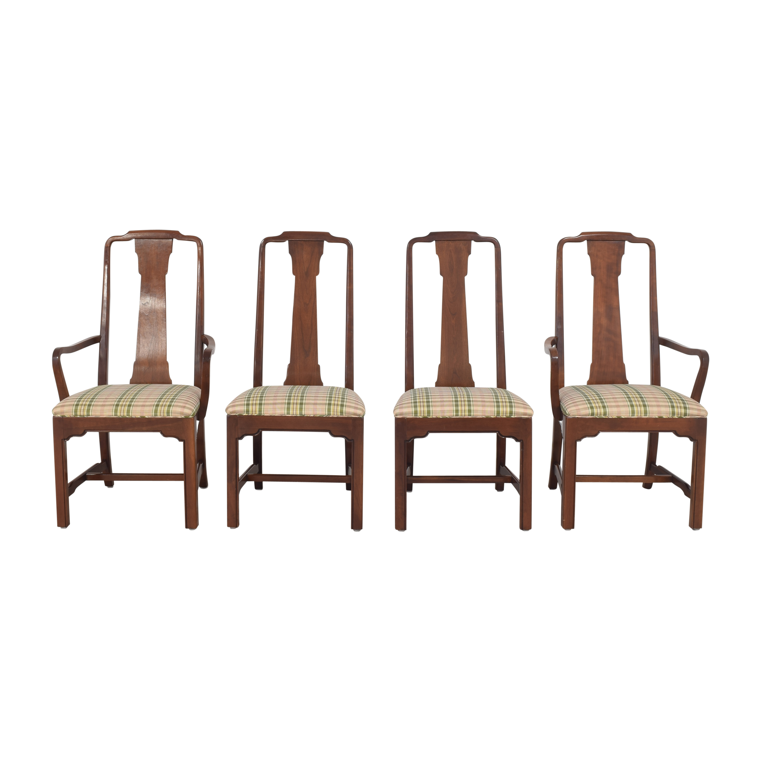 Ethan Allen Ethan Allen Canova Campaign Dining Chairs