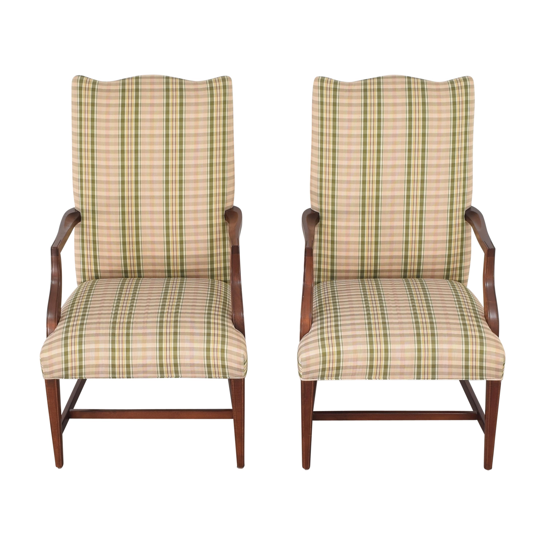 Ethan Allen Martha Washington Dining Arm Chairs sale
