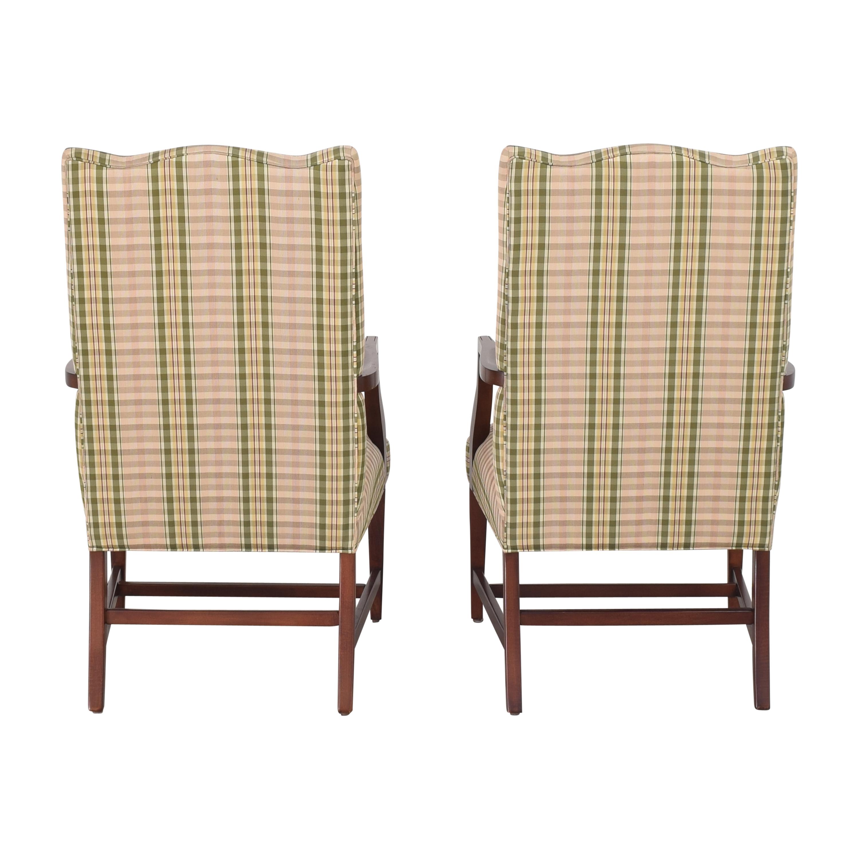 Ethan Allen Ethan Allen Martha Washington Dining Arm Chairs Dining Chairs