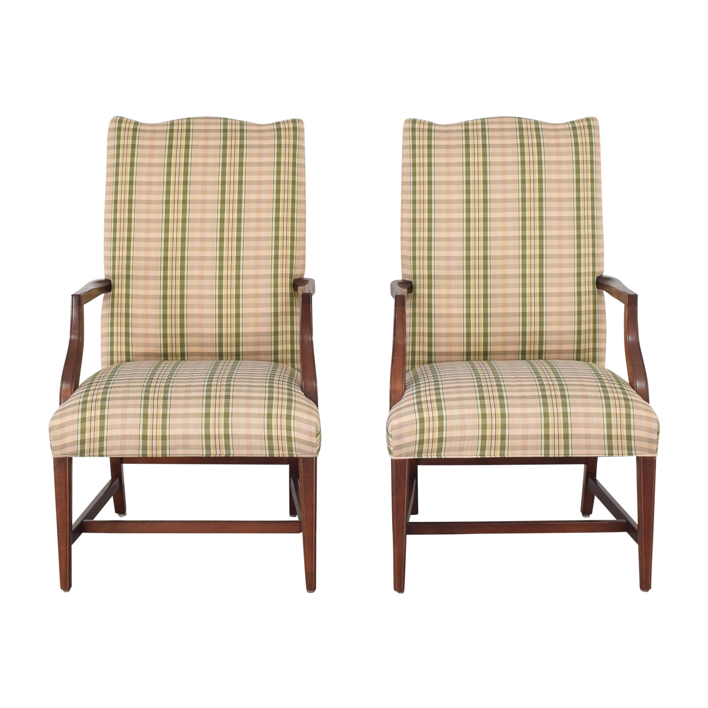 Ethan Allen Ethan Allen Martha Washington Dining Arm Chairs ma