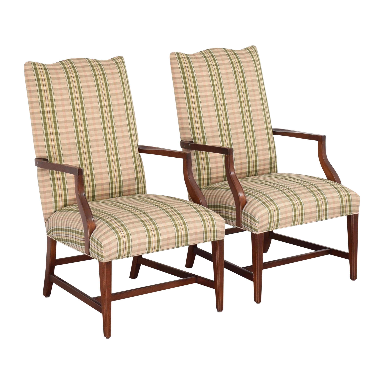 Ethan Allen Ethan Allen Martha Washington Dining Arm Chairs dimensions