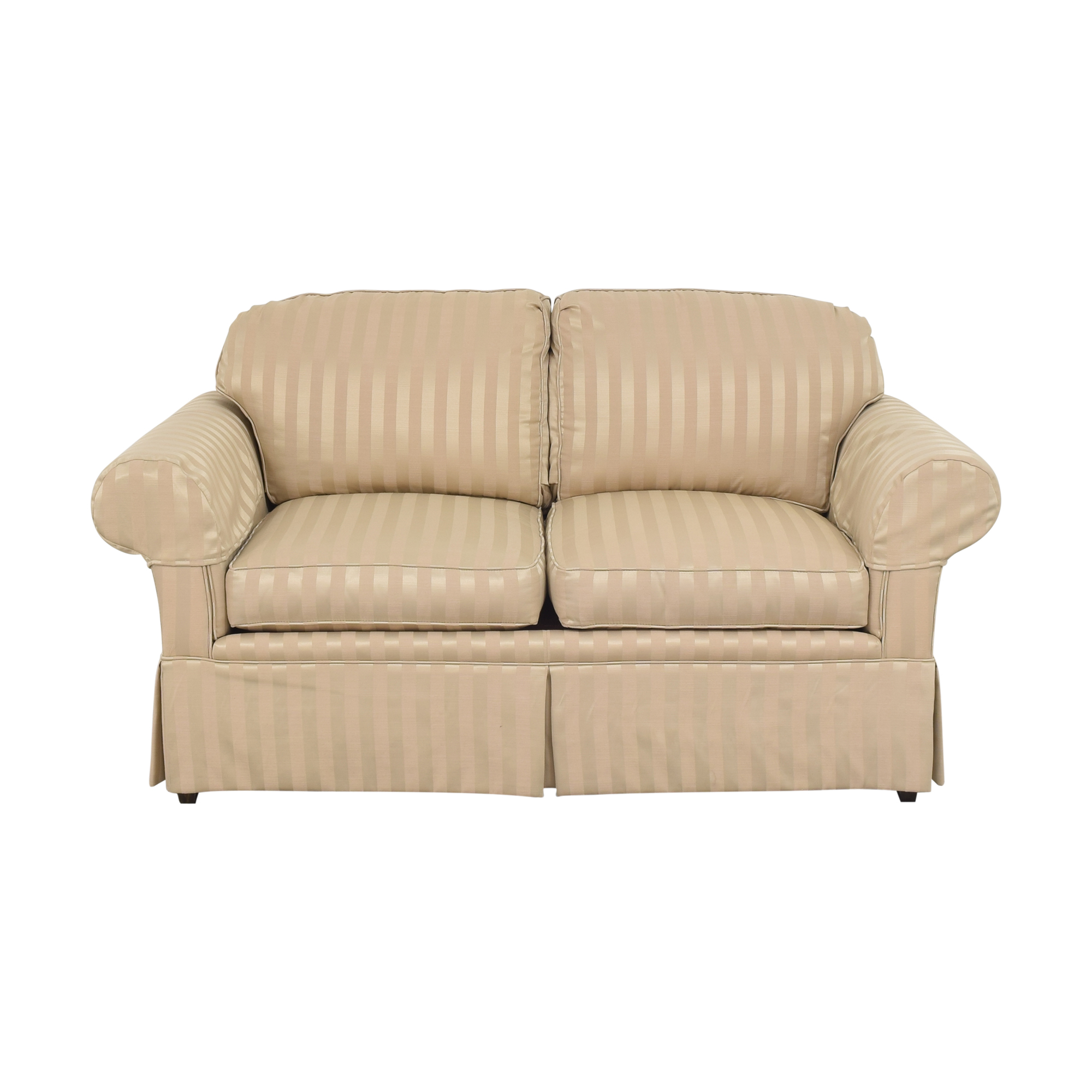 buy American of High Point Roll Arm Loveseat American of High Point Loveseats