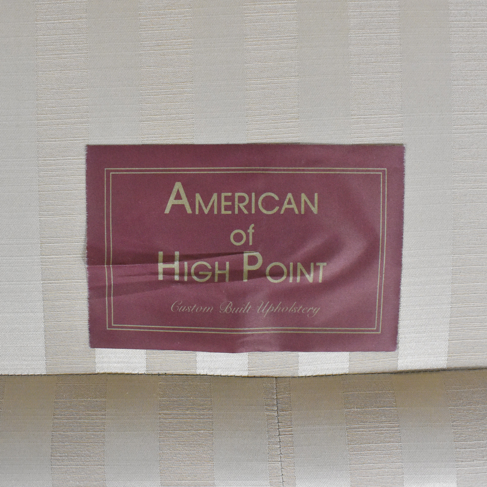 American of High Point American of High Point Roll Arm Loveseat used