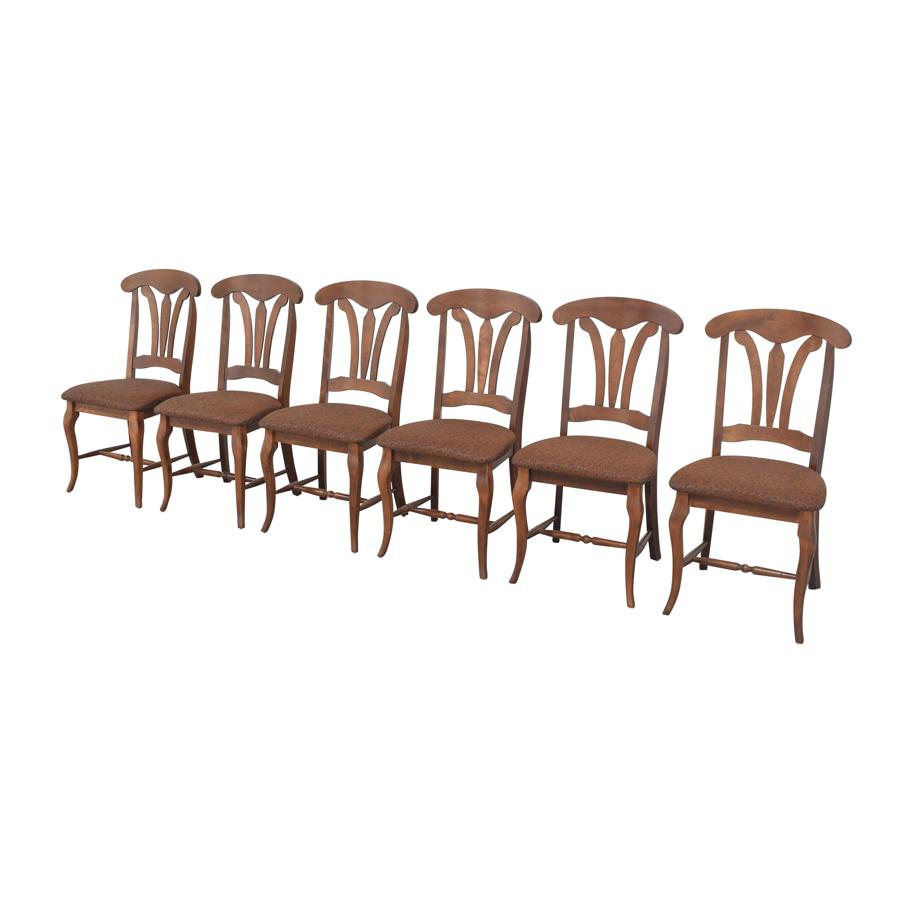 Canadel Canadel Upholstered Dining Chairs brown