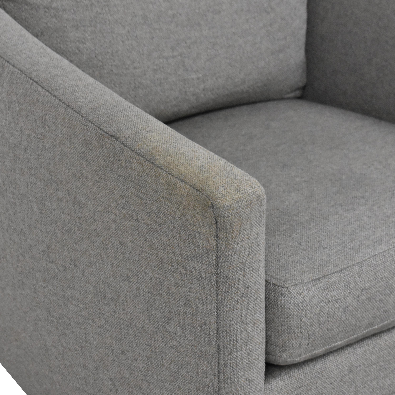 Room & Board Ford Swivel Chair Room & Board