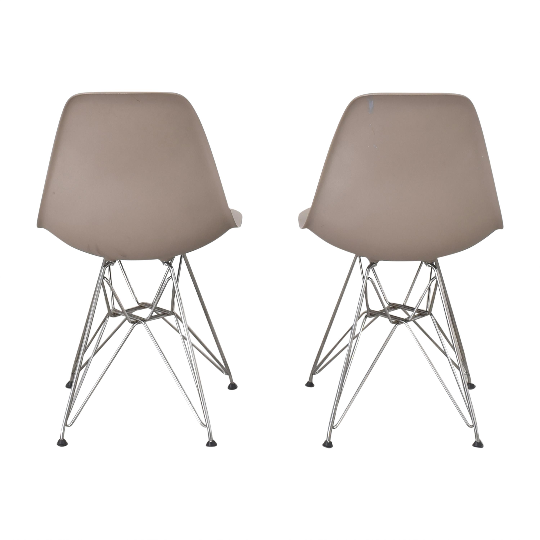 Herman Miller Herman Miller Eames Molded Dining Chairs grey