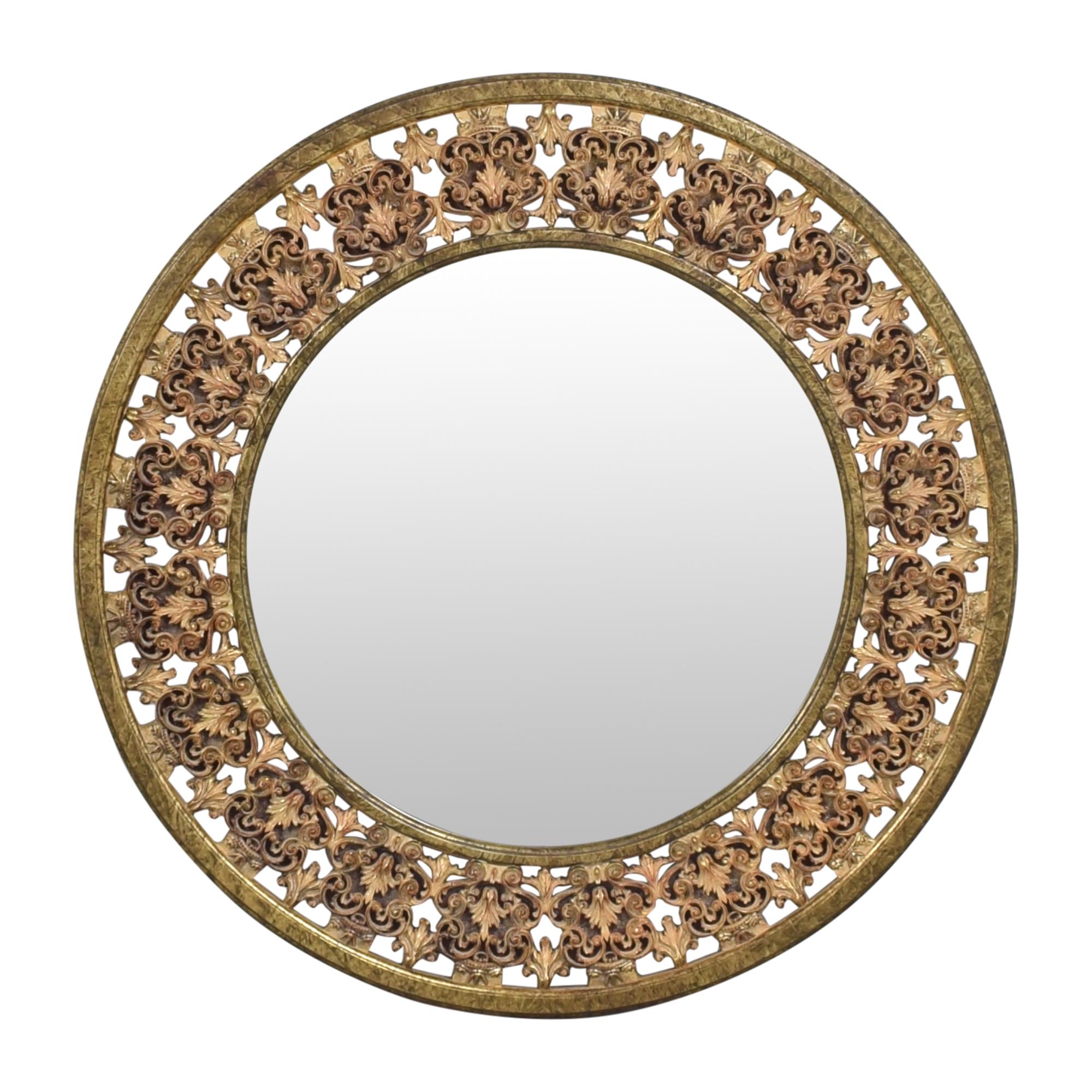 shop Ethan Allen Ethan Allen Round Florentine Mirror online
