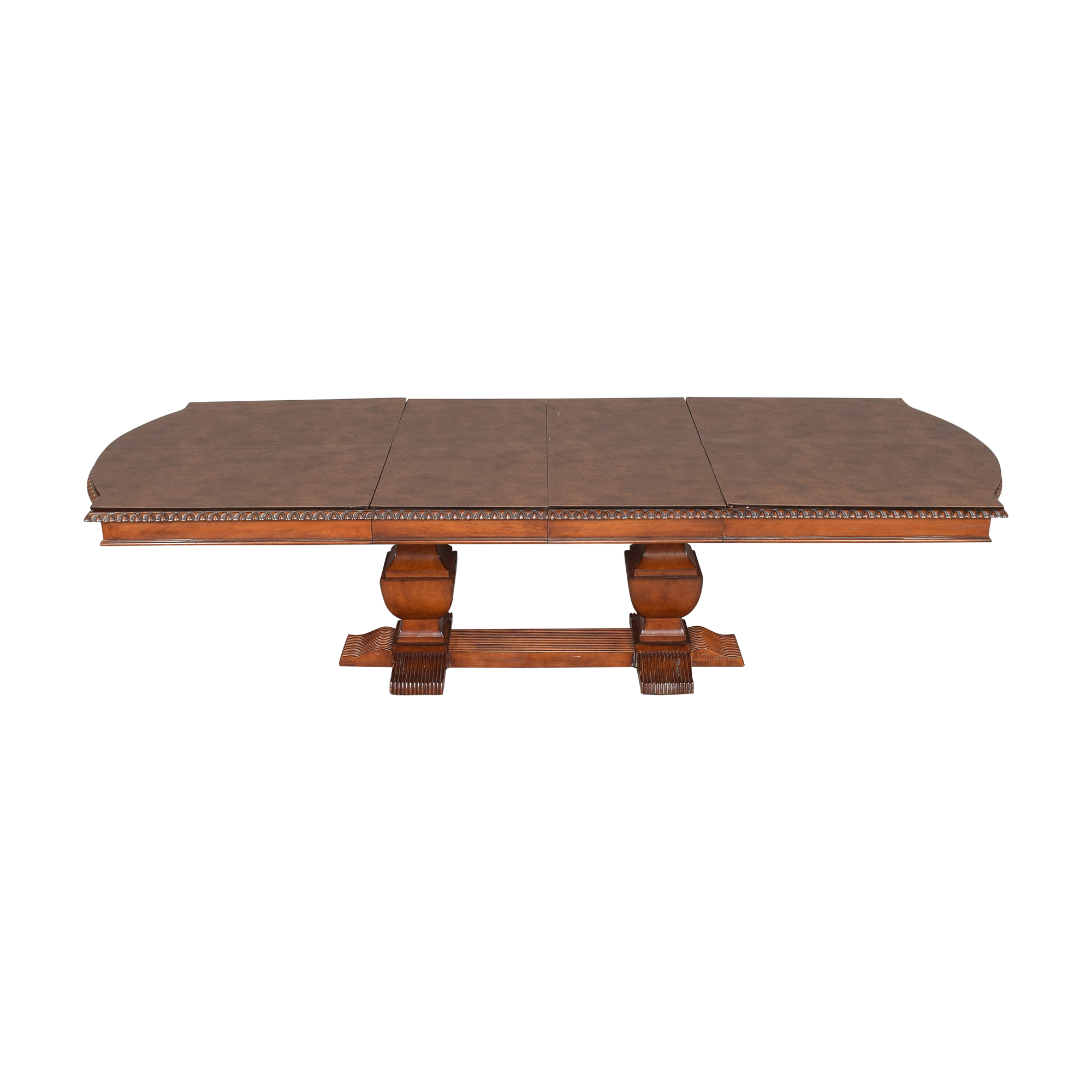 Hickory White Legends Extendable Dining Table / Dinner Tables