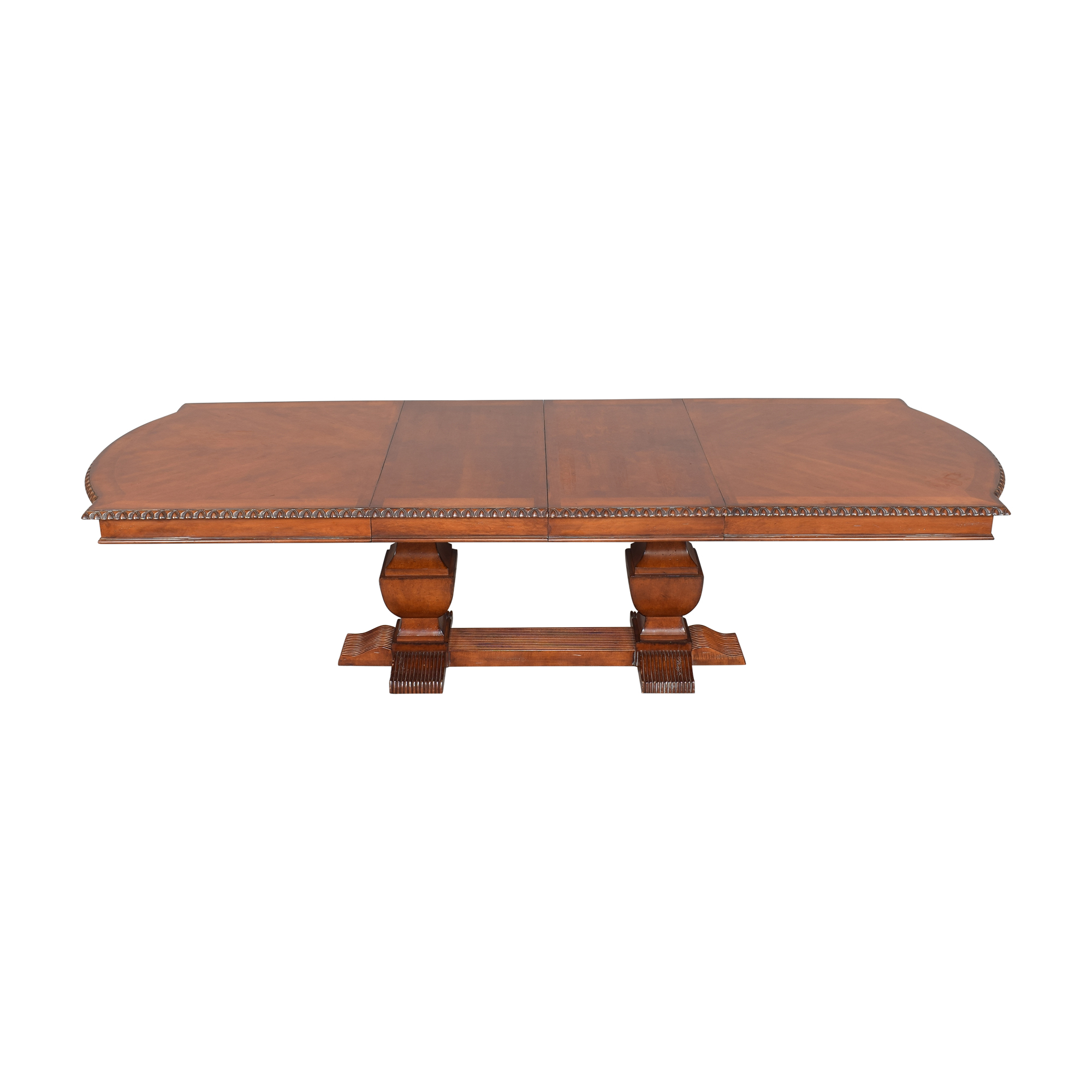 buy Hickory White Legends Extendable Dining Table Hickory White
