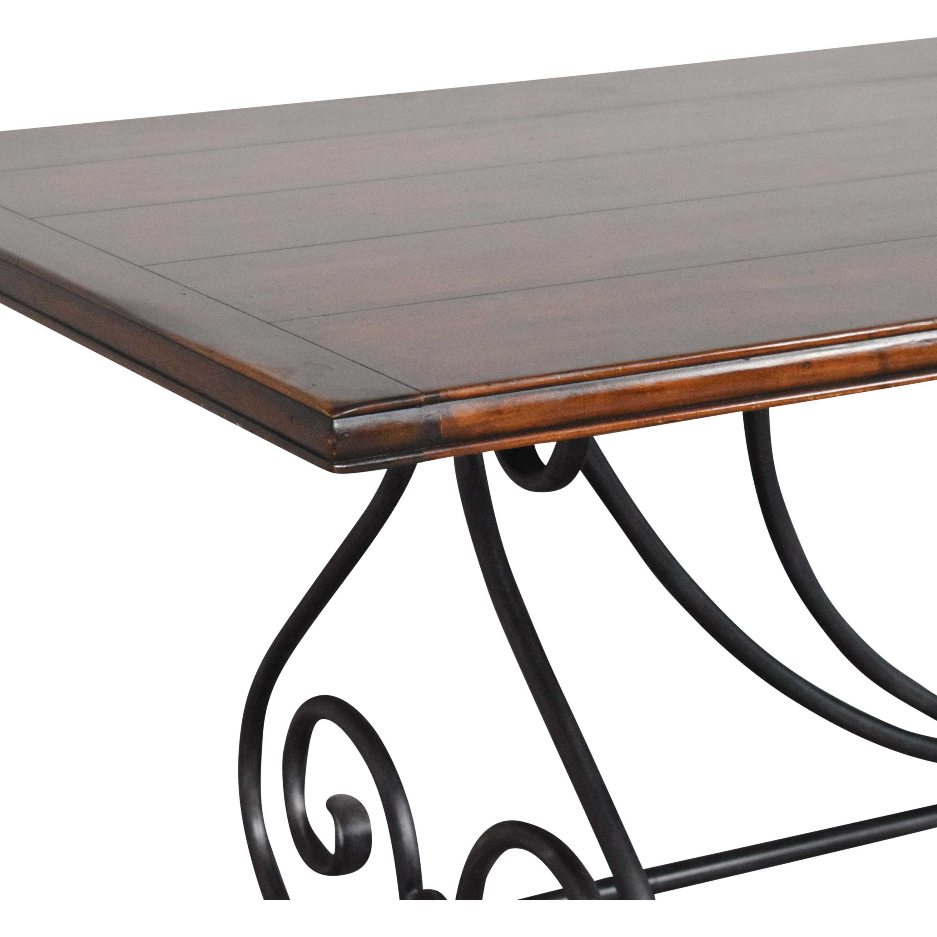 Theodore Alexander Theodore Alexander Rustic Dining Table second hand