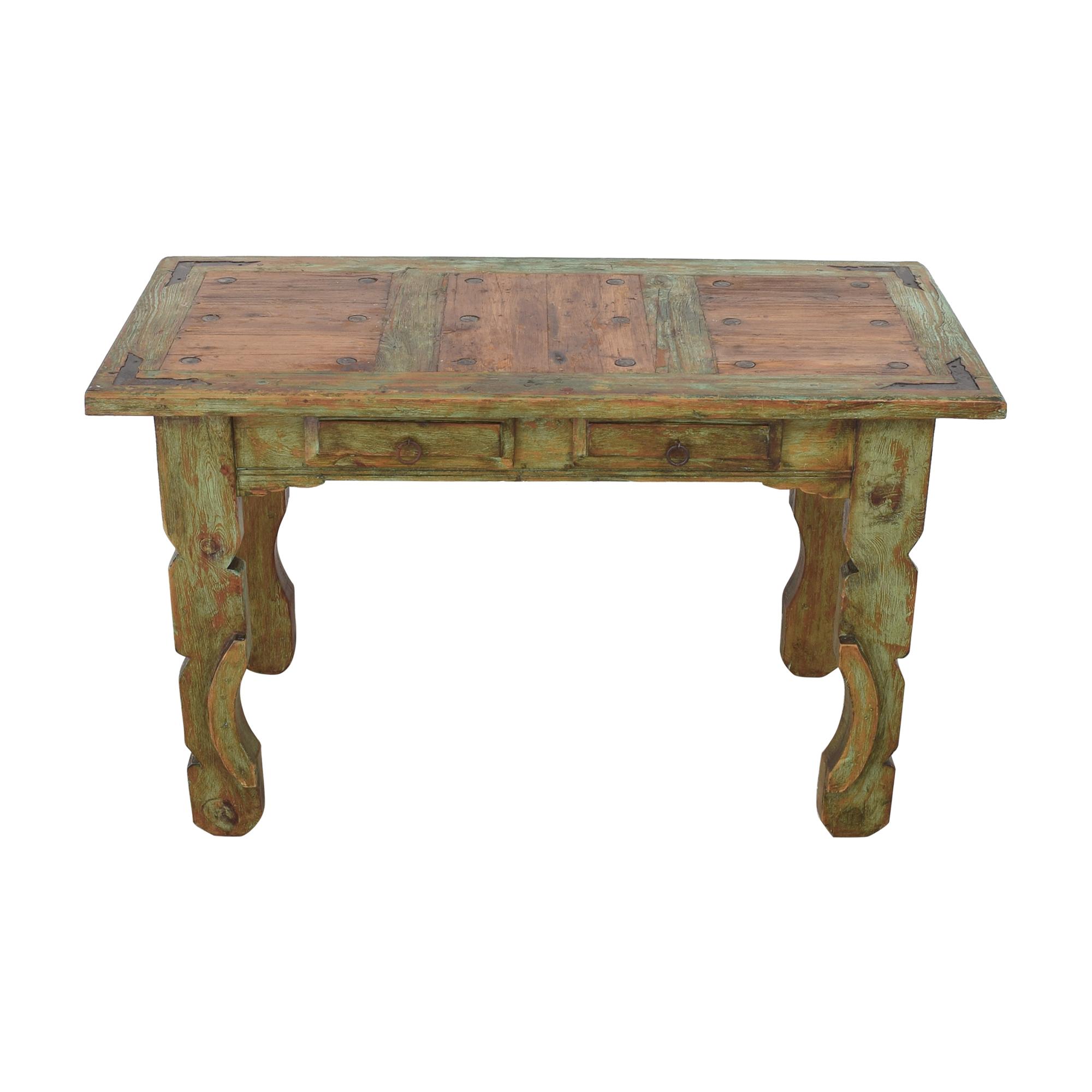 El Barzon Rustic Furniture El Barzon Rustic Furniture Reclaimed Dining Table  ct