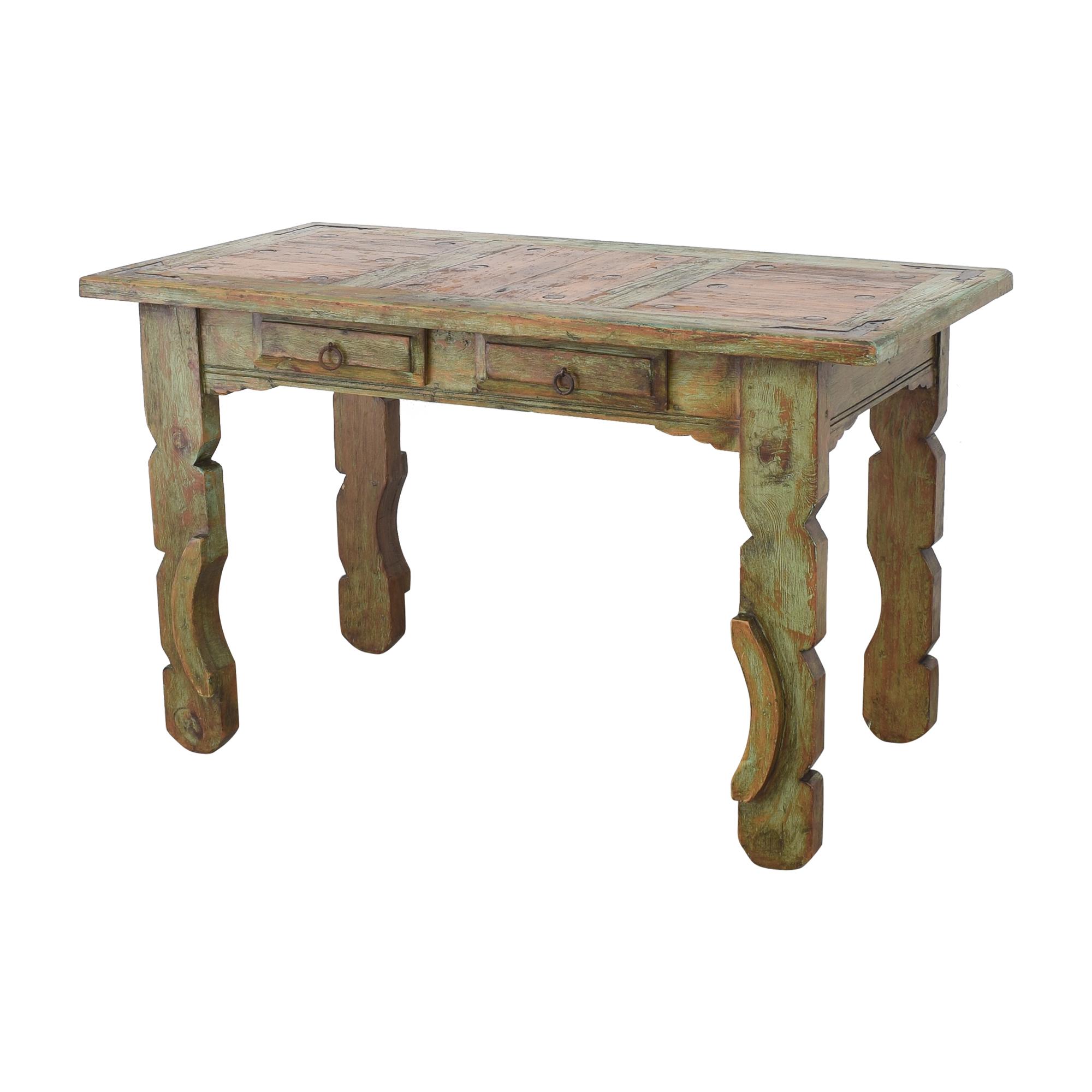 El Barzon Rustic Furniture El Barzon Rustic Furniture Reclaimed Dining Table  used