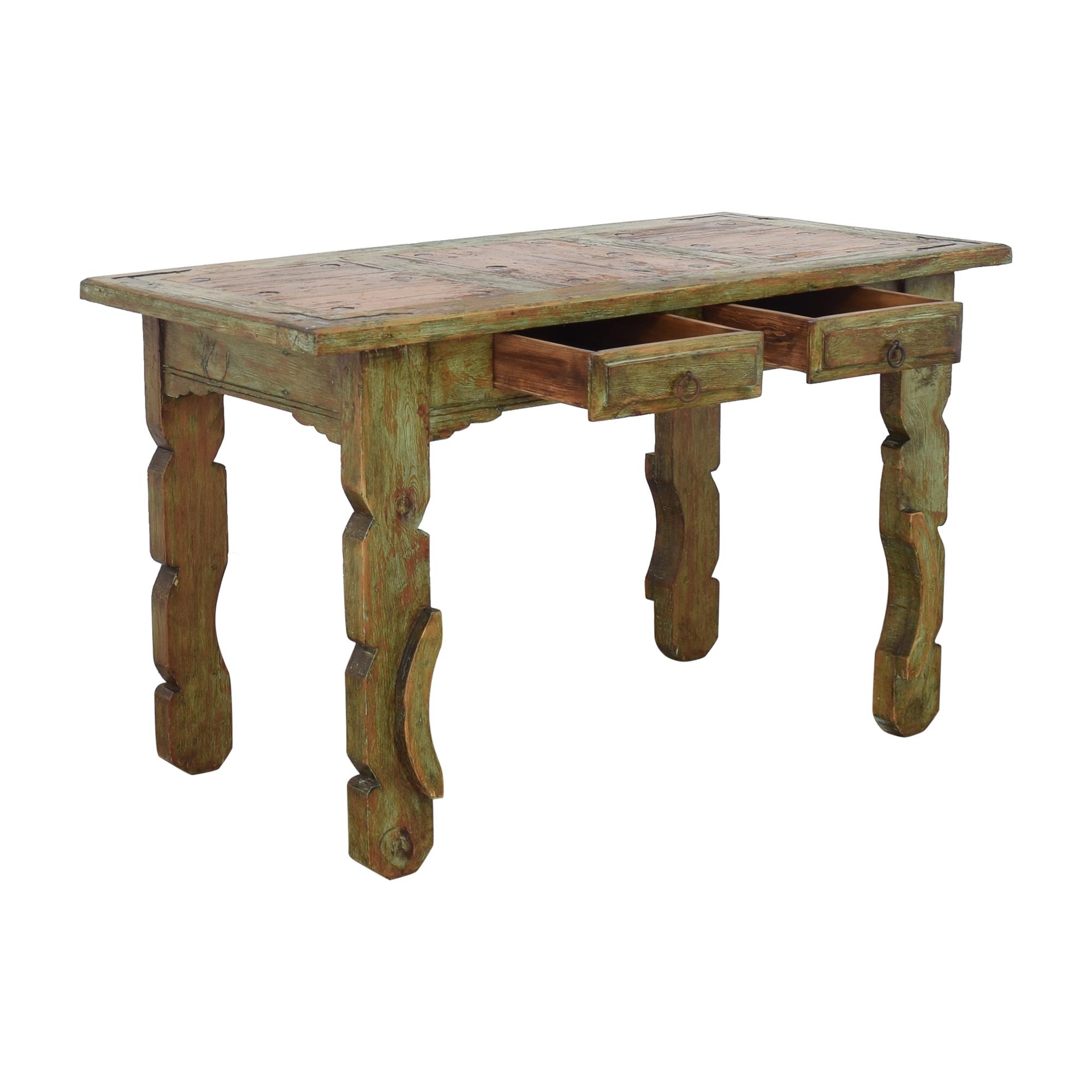 shop El Barzon Rustic Furniture Reclaimed Dining Table  El Barzon Rustic Furniture Tables