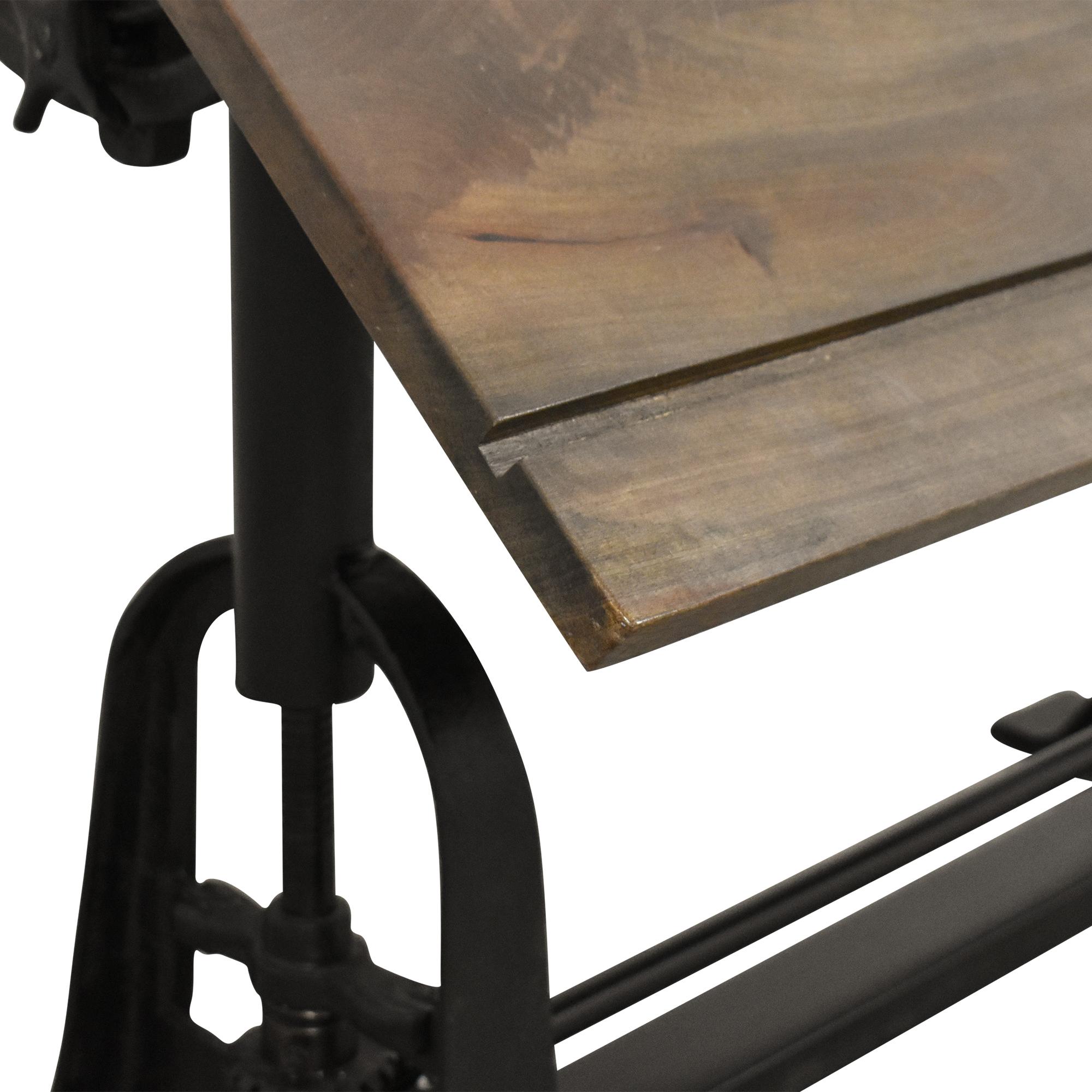 Restoration Hardware 1910 American Trestle Drafting Table sale