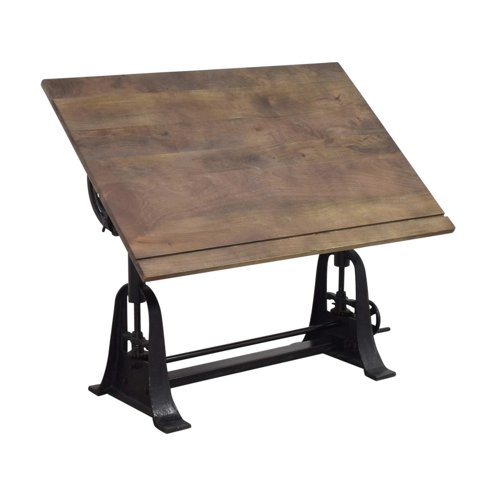 Restoration Hardware Restoration Hardware 1910 American Trestle Drafting Table for sale