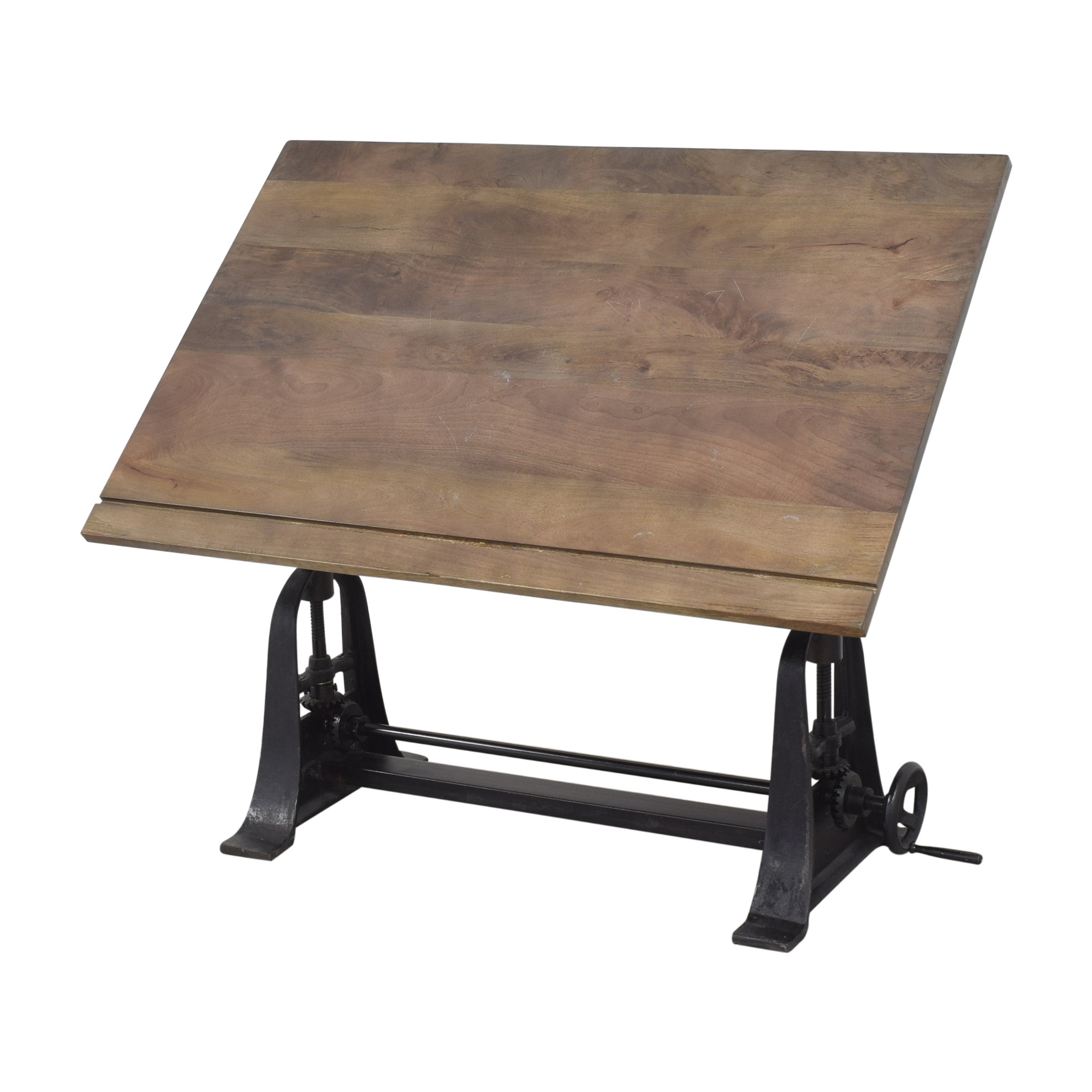 Restoration Hardware Restoration Hardware 1910 American Trestle Drafting Table dimensions
