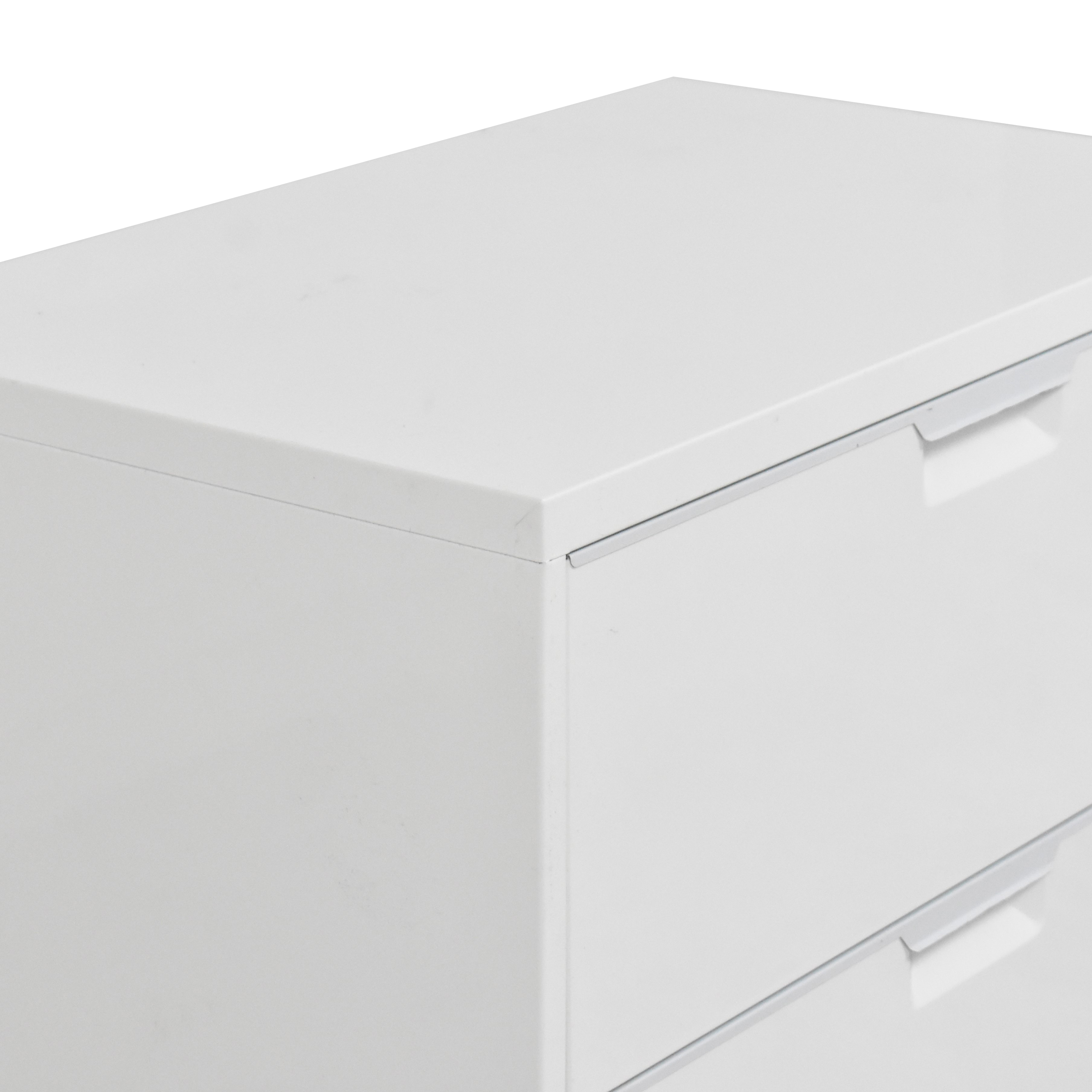 CB2 CB2 TPS Wide Filing Cabinet Storage