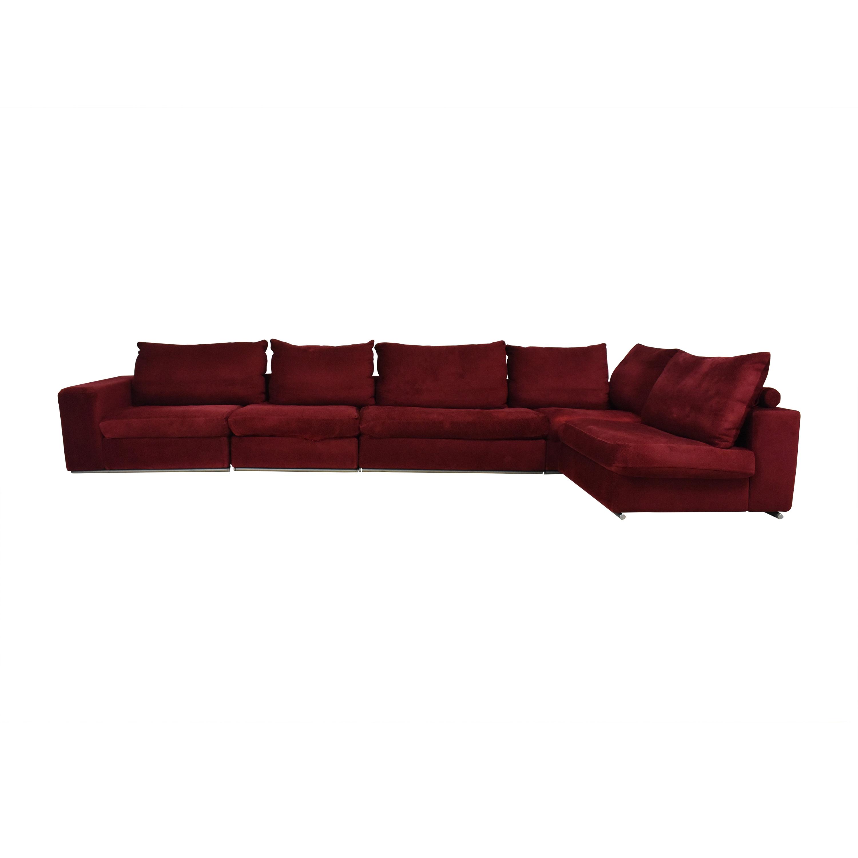 Flexform Flexform Five Piece Corner Sectional Sofa second hand