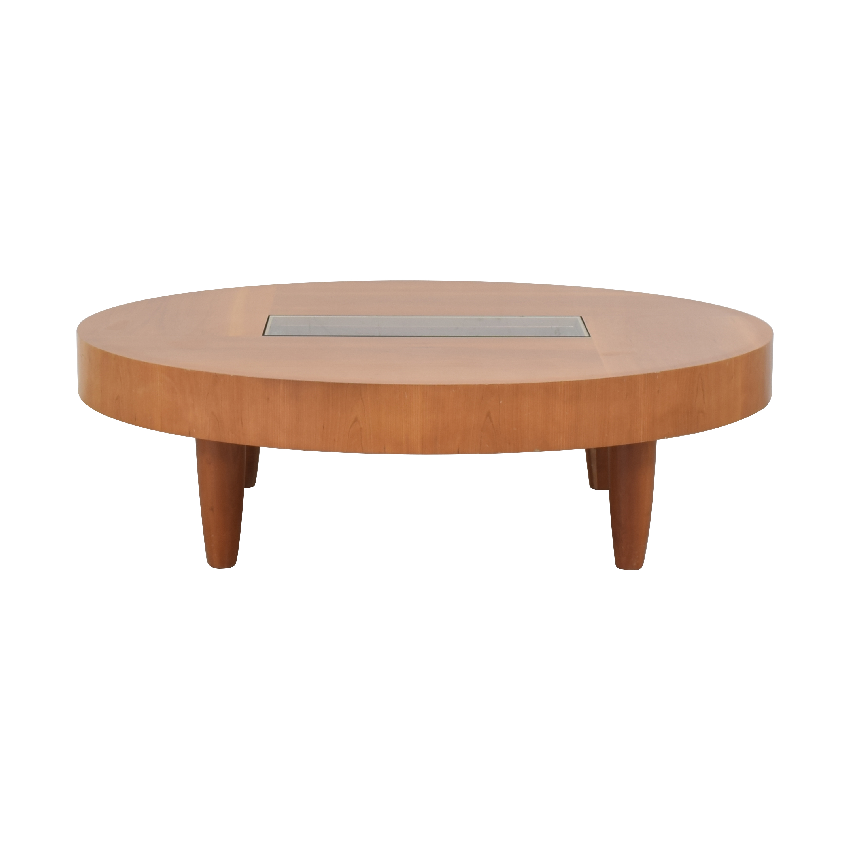 Ted Boerner Ted Boerner Modern Oval Coffee Table nyc