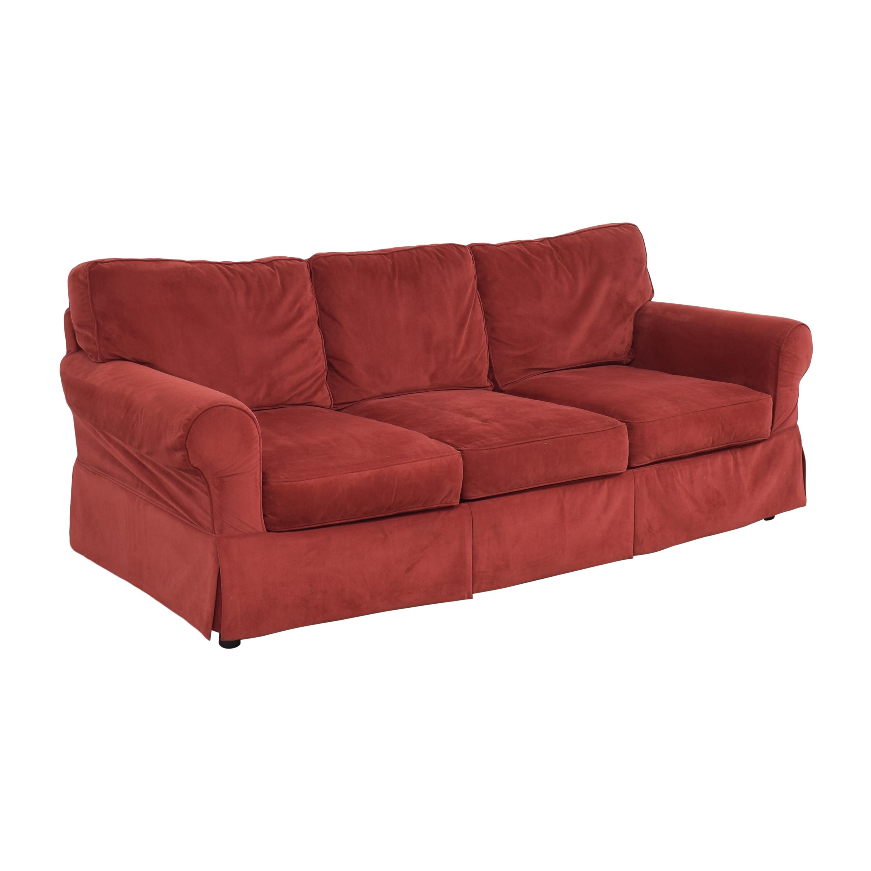 shop JC Penney JC Penney Three Cushion Roll Arm Sofa online