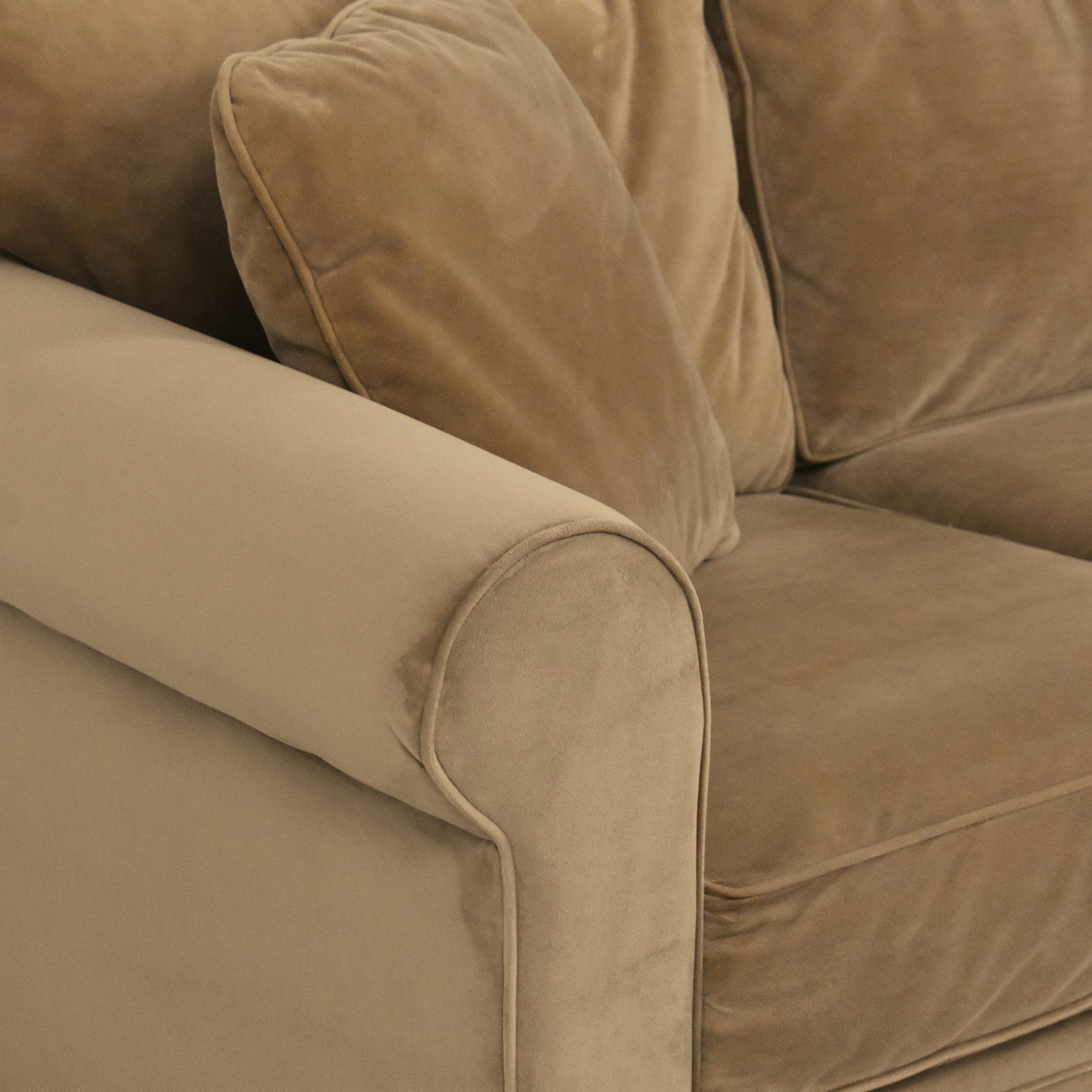 Macy's Roll Arm Sofa / Sofas