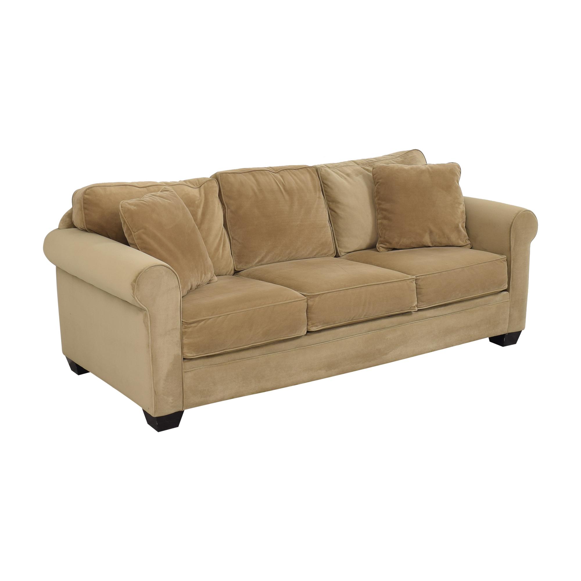 Macy's Macy's Roll Arm Sofa price