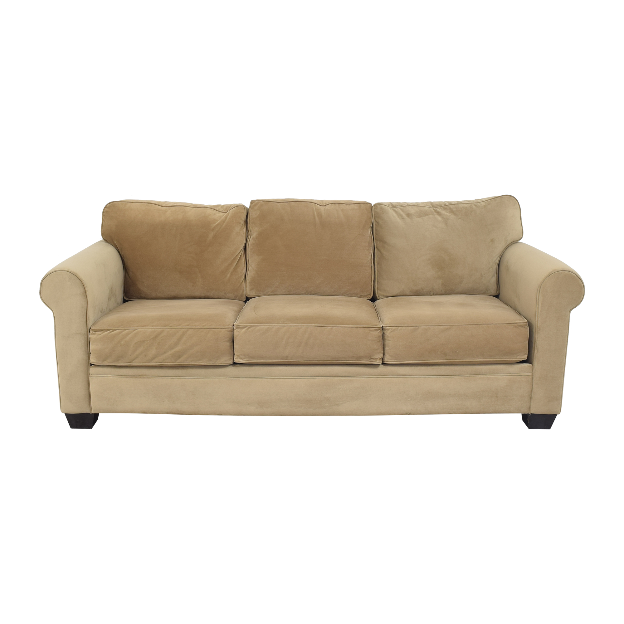 Macy's Roll Arm Sofa sale