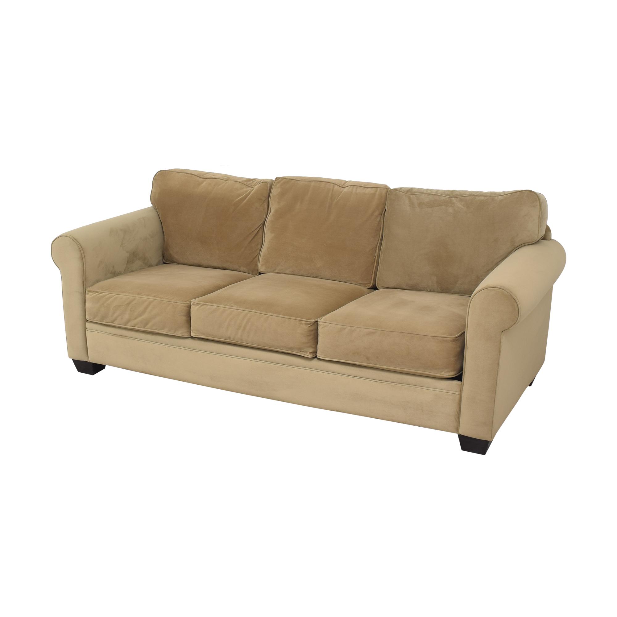 Macy's Macy's Roll Arm Sofa Sofas