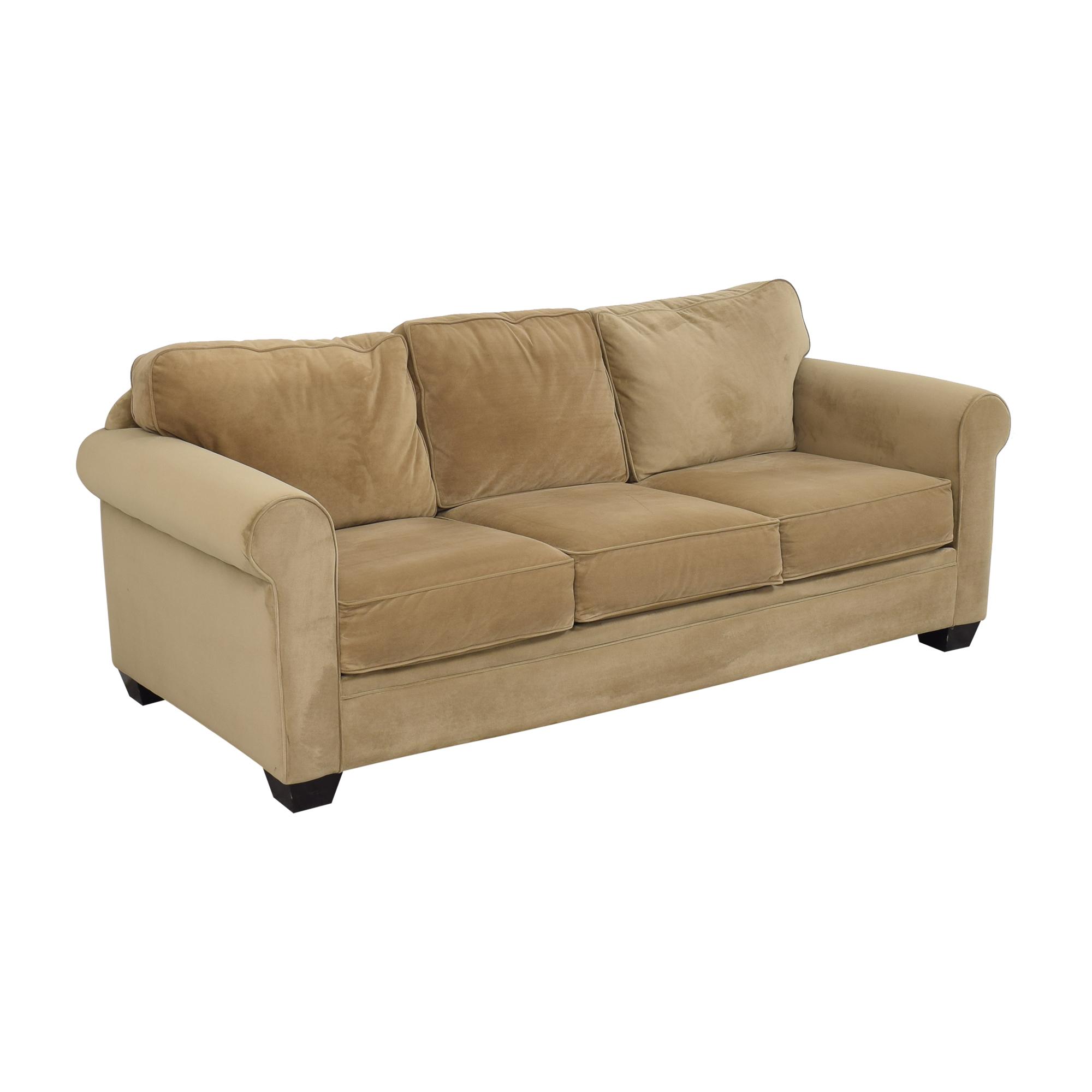 Macy's Macy's Roll Arm Sofa