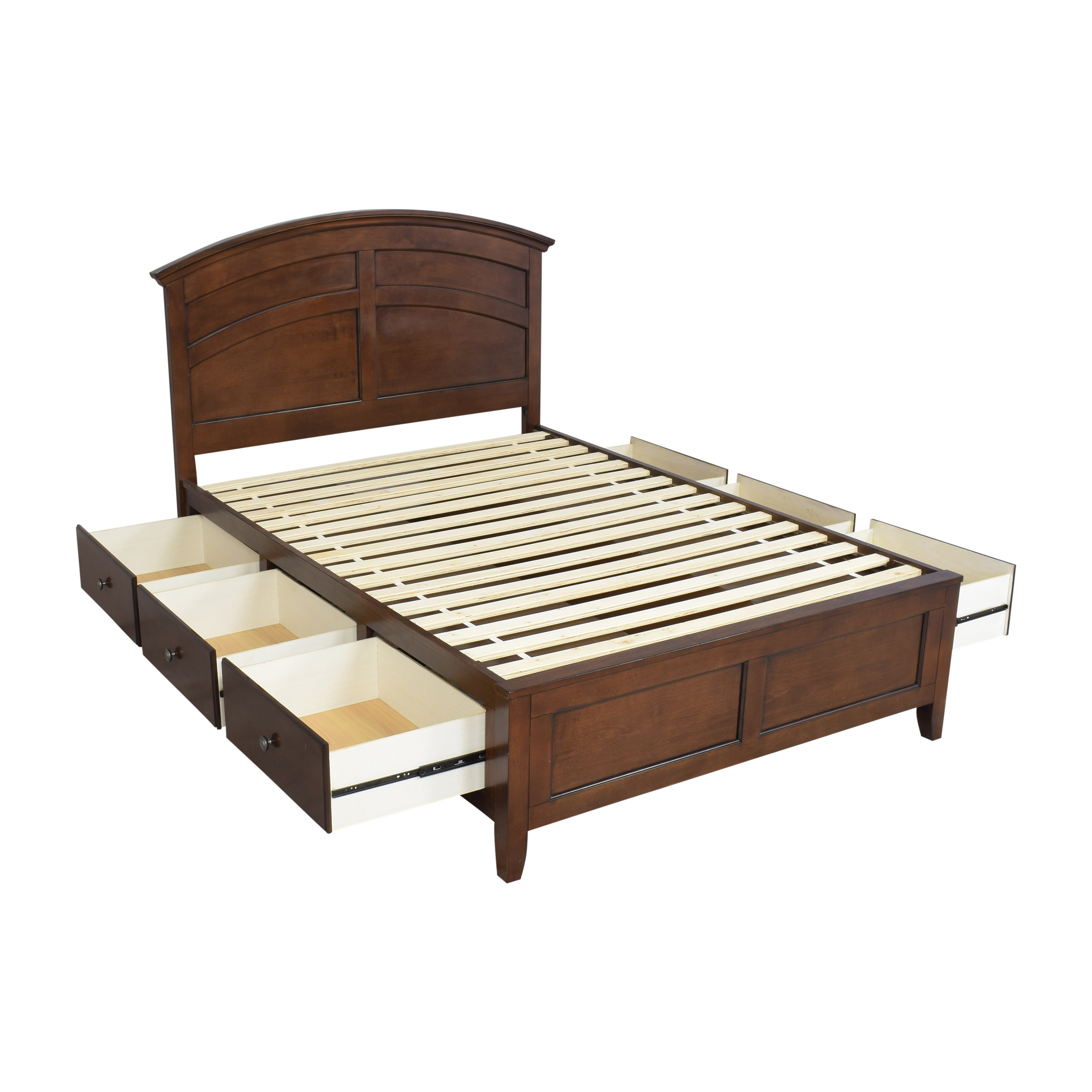 Raymour & Flanigan Raymour & Flanigan Kylie Platform Storage Full Bed for sale