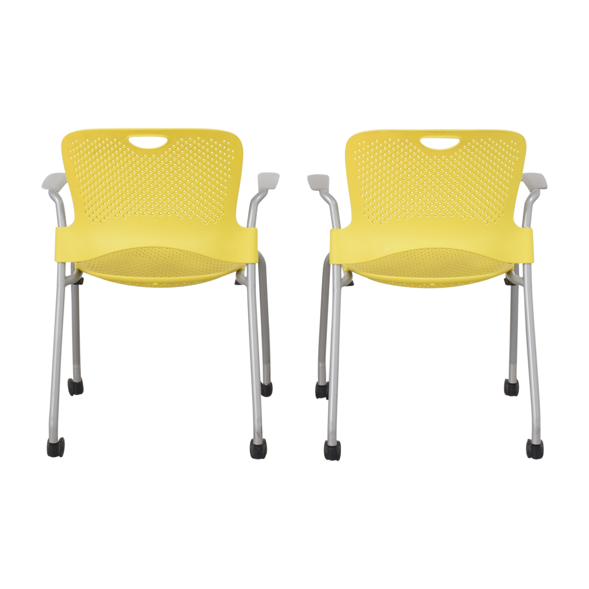 Herman Miller Caper Stacking Chairs / Chairs
