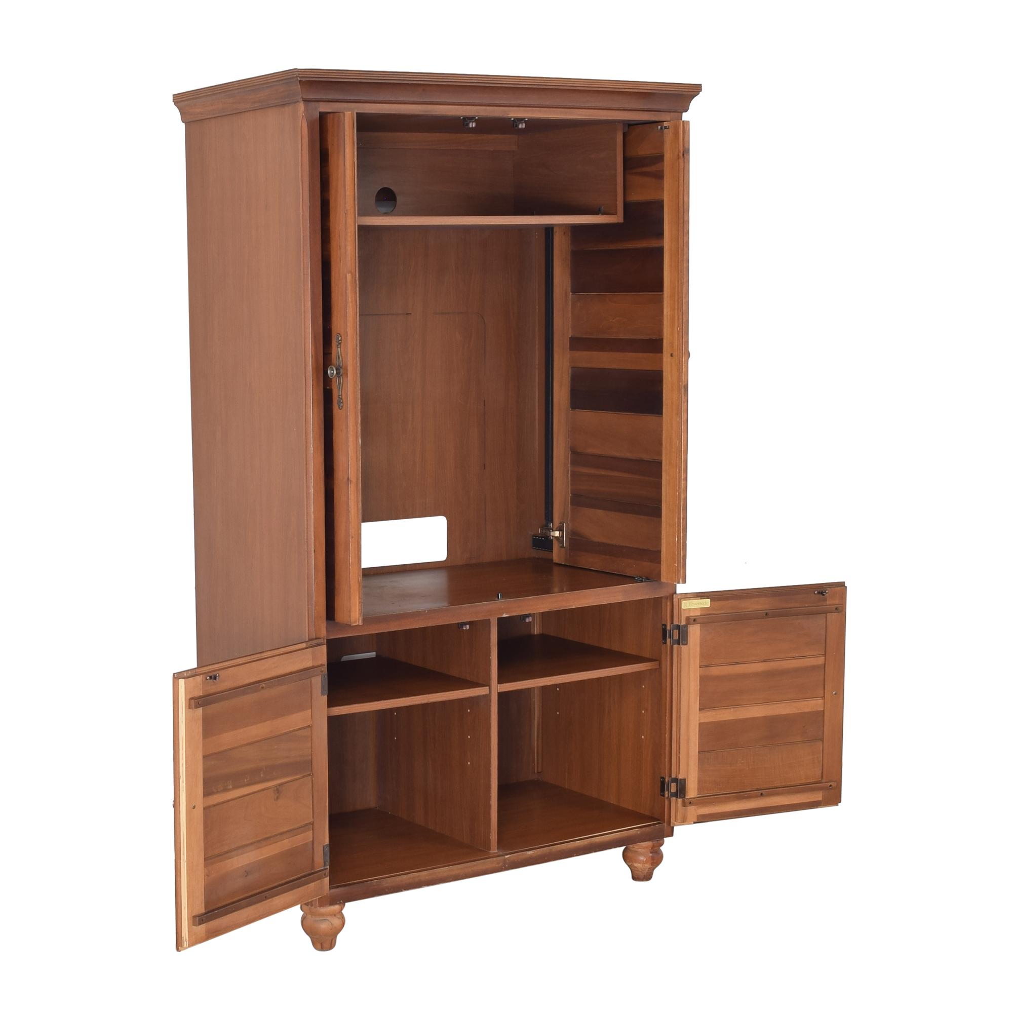 shop Riverside Furniture Media Armoire Riverside Furniture