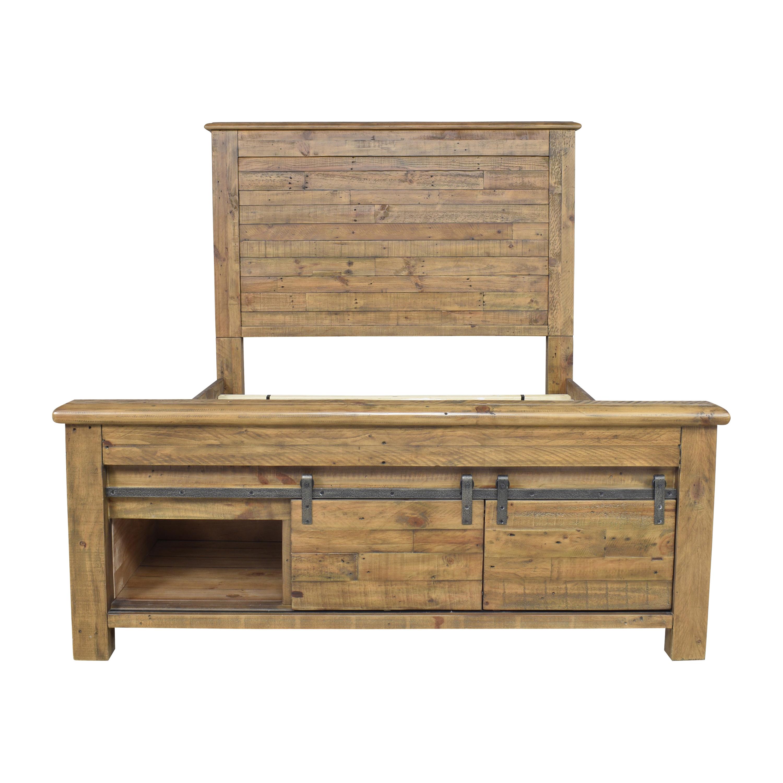 shop Ashley Furniture Sommerford Queen Storage Bed Ashley Furniture