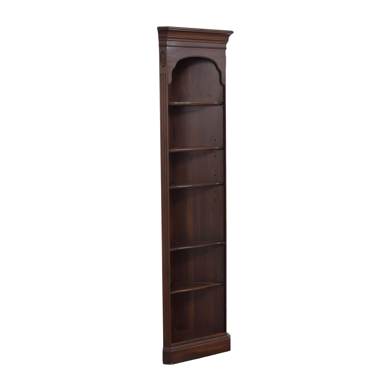 Ethan Allen Georgian Court Corner Bookshelf / Storage